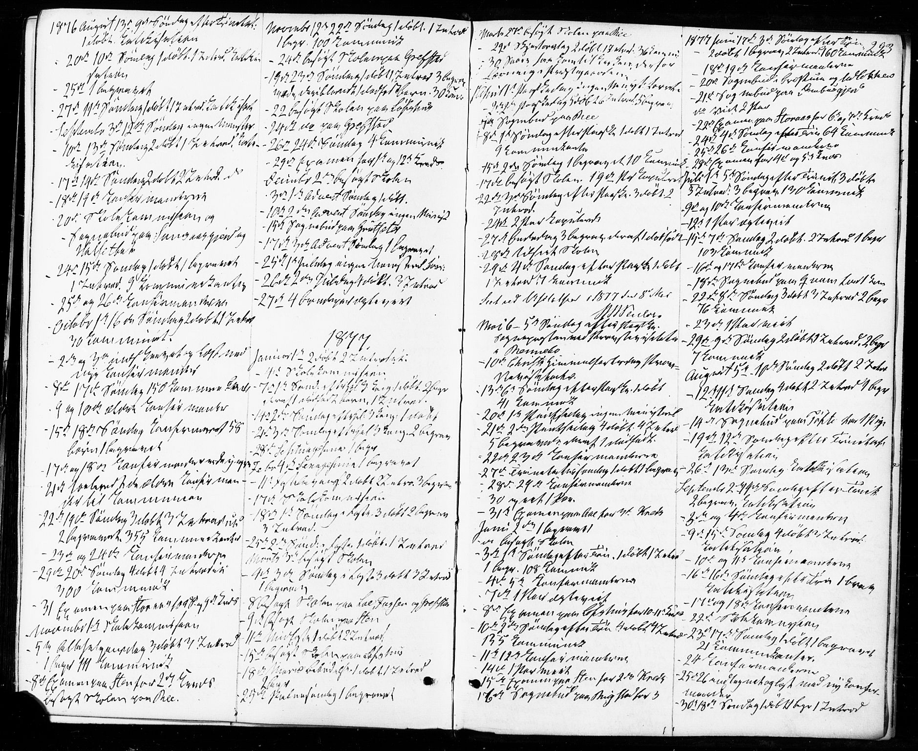 SAT, Ministerialprotokoller, klokkerbøker og fødselsregistre - Sør-Trøndelag, 672/L0856: Ministerialbok nr. 672A08, 1861-1881, s. 293