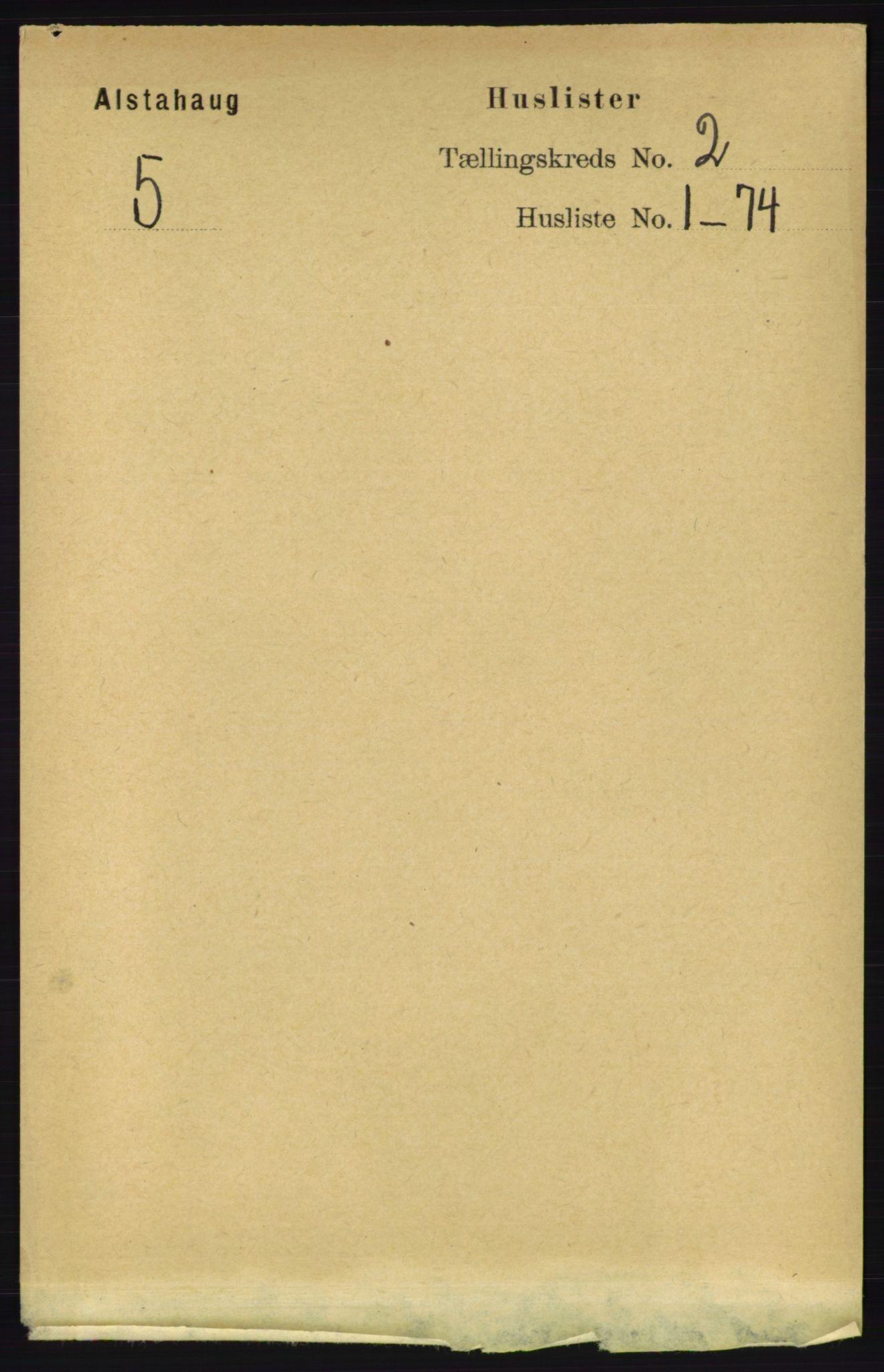RA, Folketelling 1891 for 1820 Alstahaug herred, 1891, s. 424