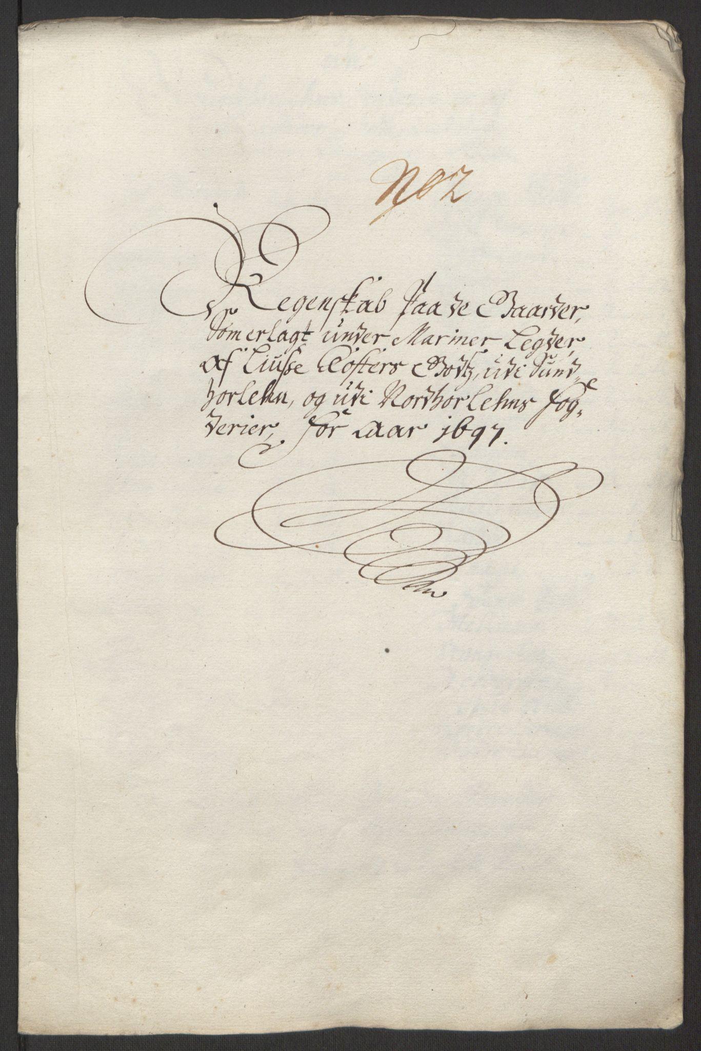 RA, Rentekammeret inntil 1814, Reviderte regnskaper, Fogderegnskap, R50/L3159: Fogderegnskap Lyse kloster, 1691-1709, s. 75