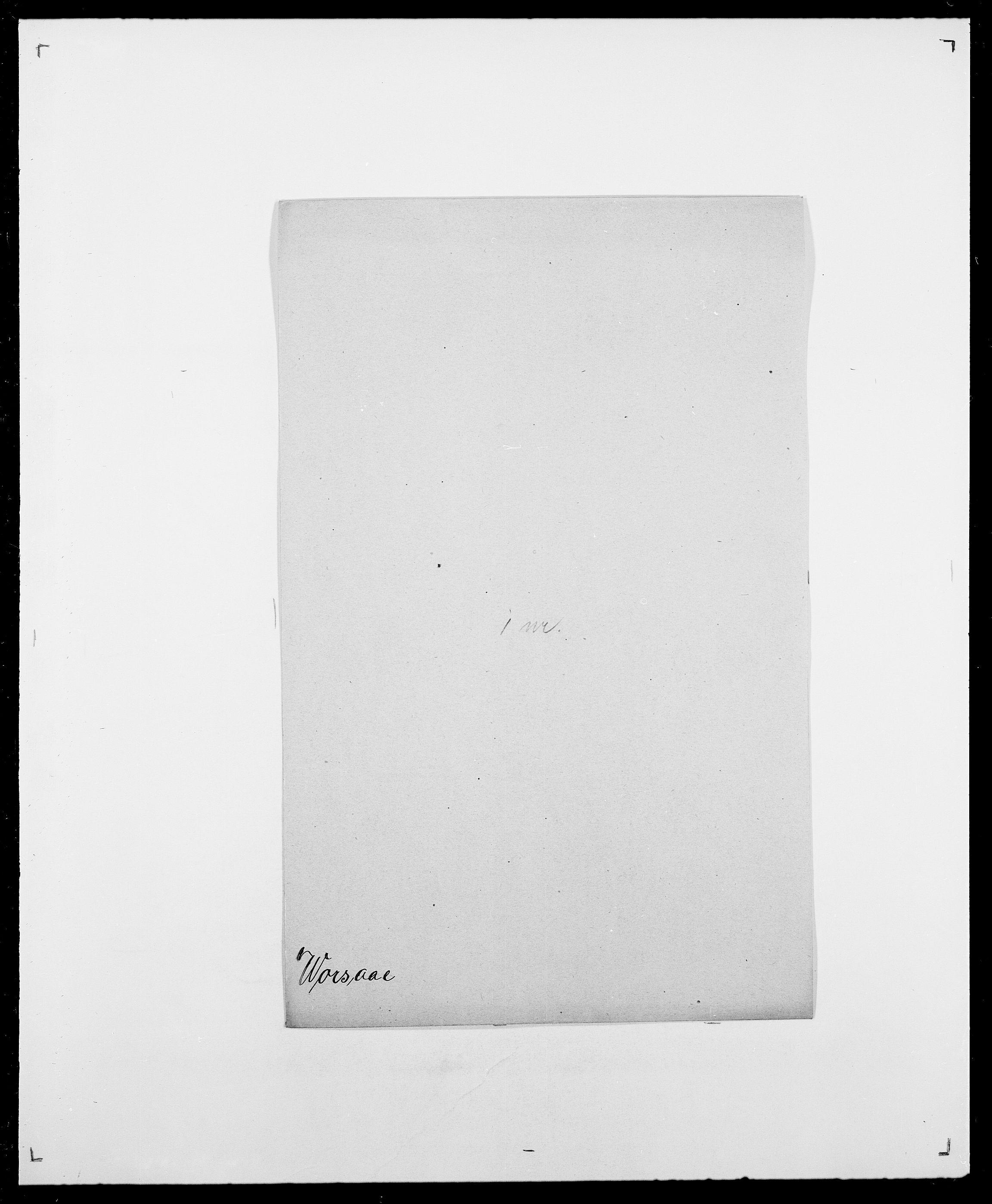 SAO, Delgobe, Charles Antoine - samling, D/Da/L0042: Vilain - Wulf, Wulff, se også Wolf, s. 692