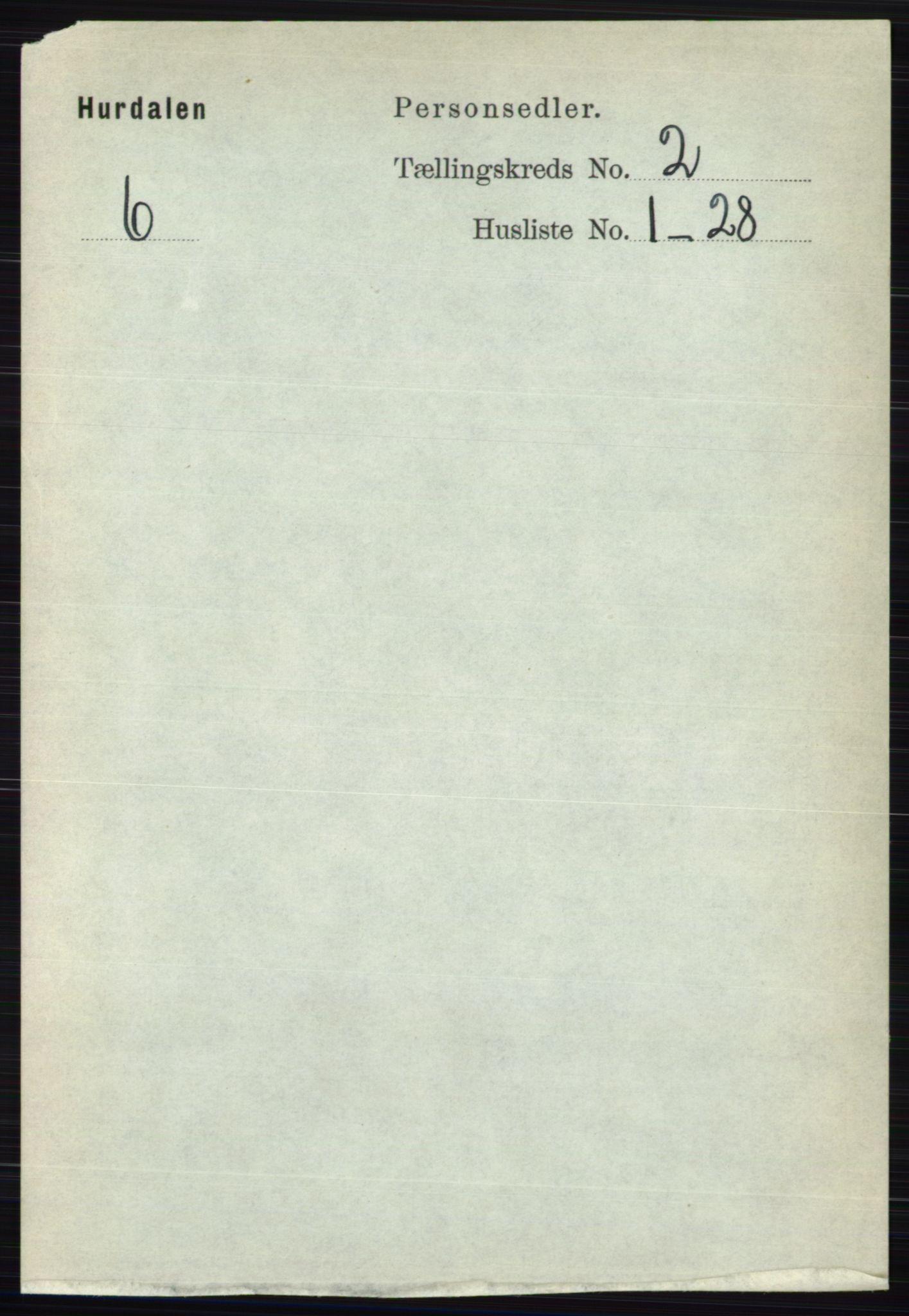 RA, Folketelling 1891 for 0239 Hurdal herred, 1891, s. 523