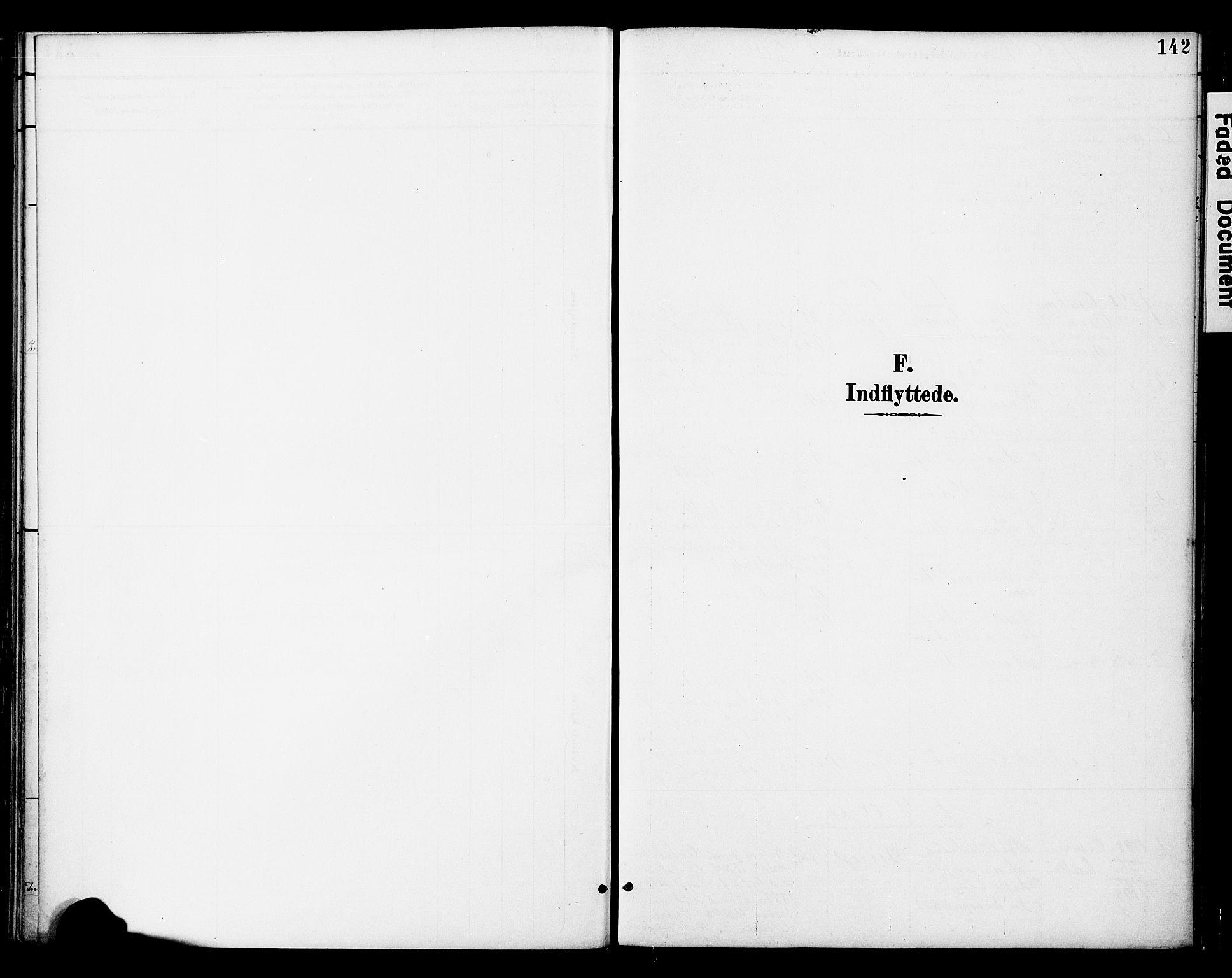 SAT, Ministerialprotokoller, klokkerbøker og fødselsregistre - Nord-Trøndelag, 742/L0409: Ministerialbok nr. 742A02, 1891-1905, s. 142