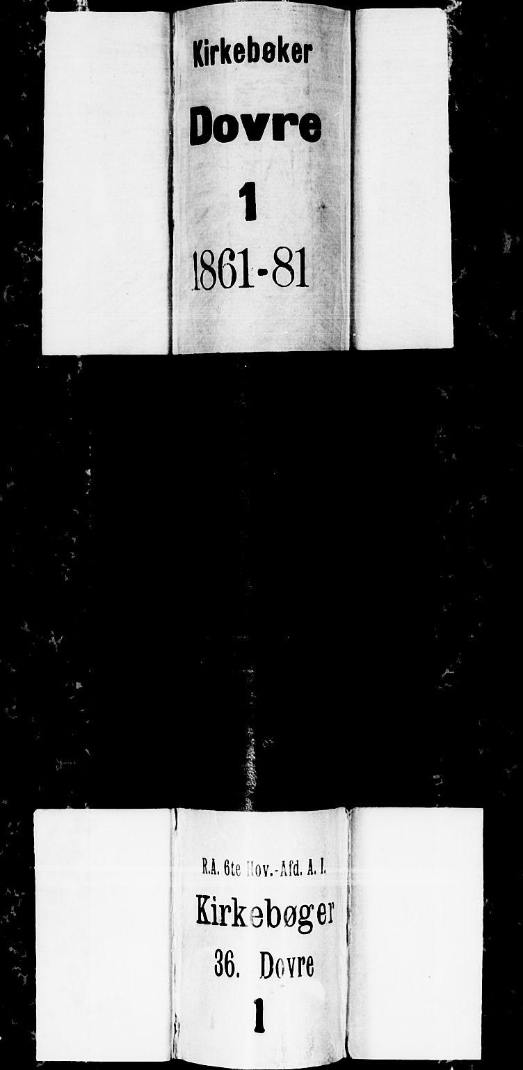 SAH, Dovre prestekontor, Klokkerbok nr. 1, 1862-1880