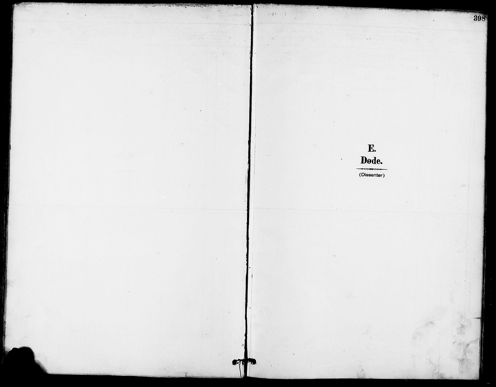 SAO, Gamle Aker prestekontor Kirkebøker, F/L0008: Ministerialbok nr. 8, 1887-1896, s. 398