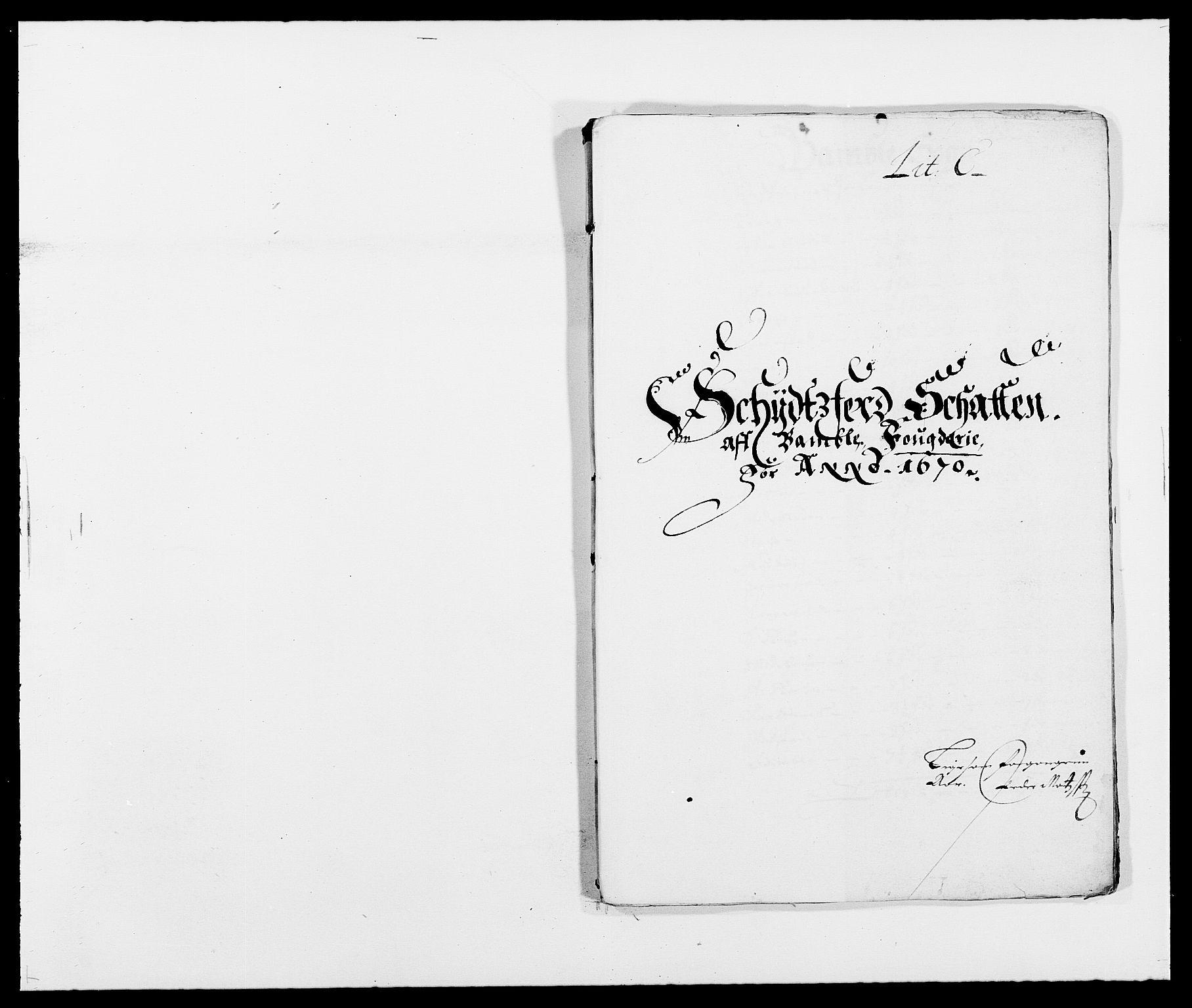 RA, Rentekammeret inntil 1814, Reviderte regnskaper, Fogderegnskap, R34/L2041: Fogderegnskap Bamble, 1670-1672, s. 56