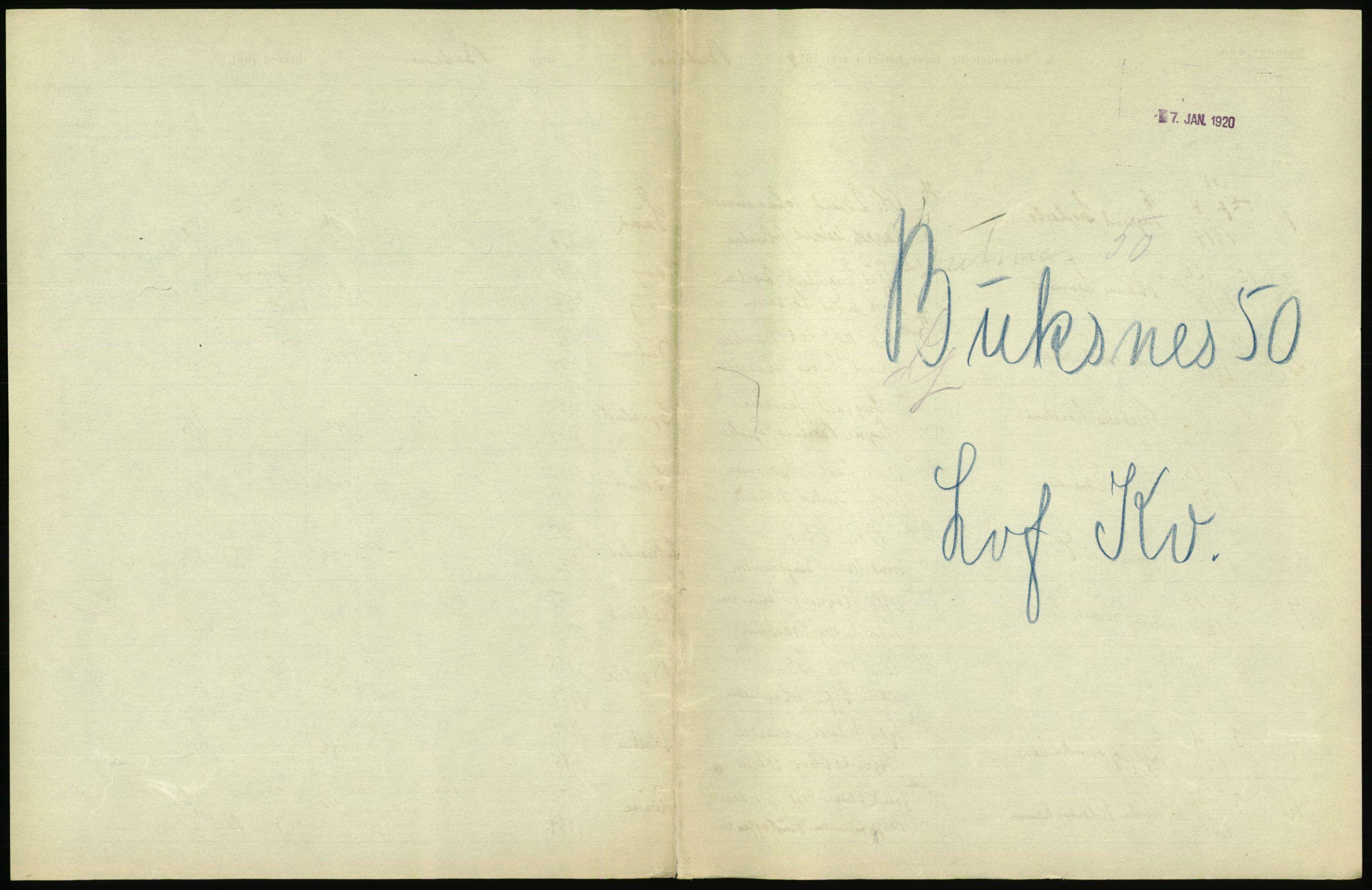 RA, Statistisk sentralbyrå, Sosiodemografiske emner, Befolkning, D/Df/Dfb/Dfbi/L0049: Nordland fylke: Levendefødte menn og kvinner. Bygder., 1919
