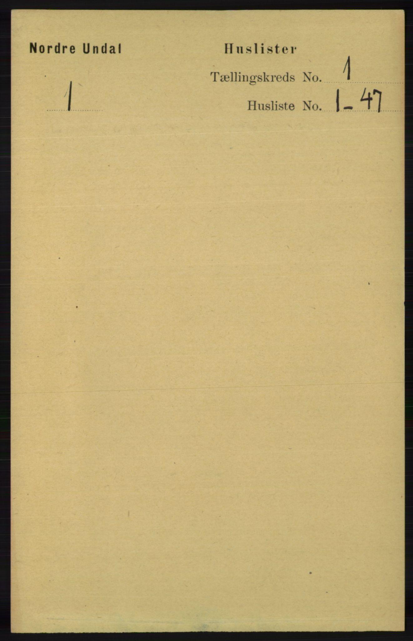 RA, Folketelling 1891 for 1028 Nord-Audnedal herred, 1891, s. 22