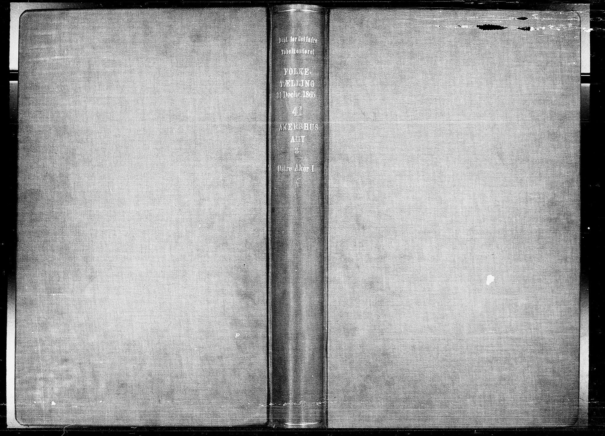 RA, Folketelling 1865 for 0218bP Østre Aker prestegjeld, 1865, s. 2