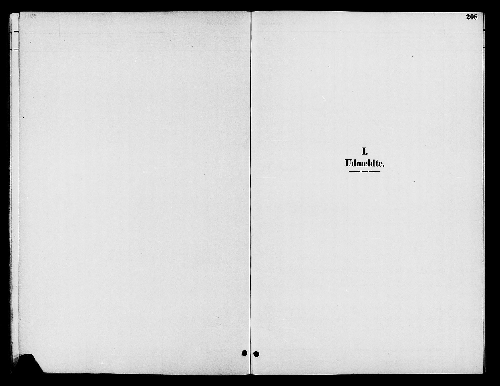 SAH, Vardal prestekontor, H/Ha/Hab/L0009: Klokkerbok nr. 9, 1894-1902, s. 208