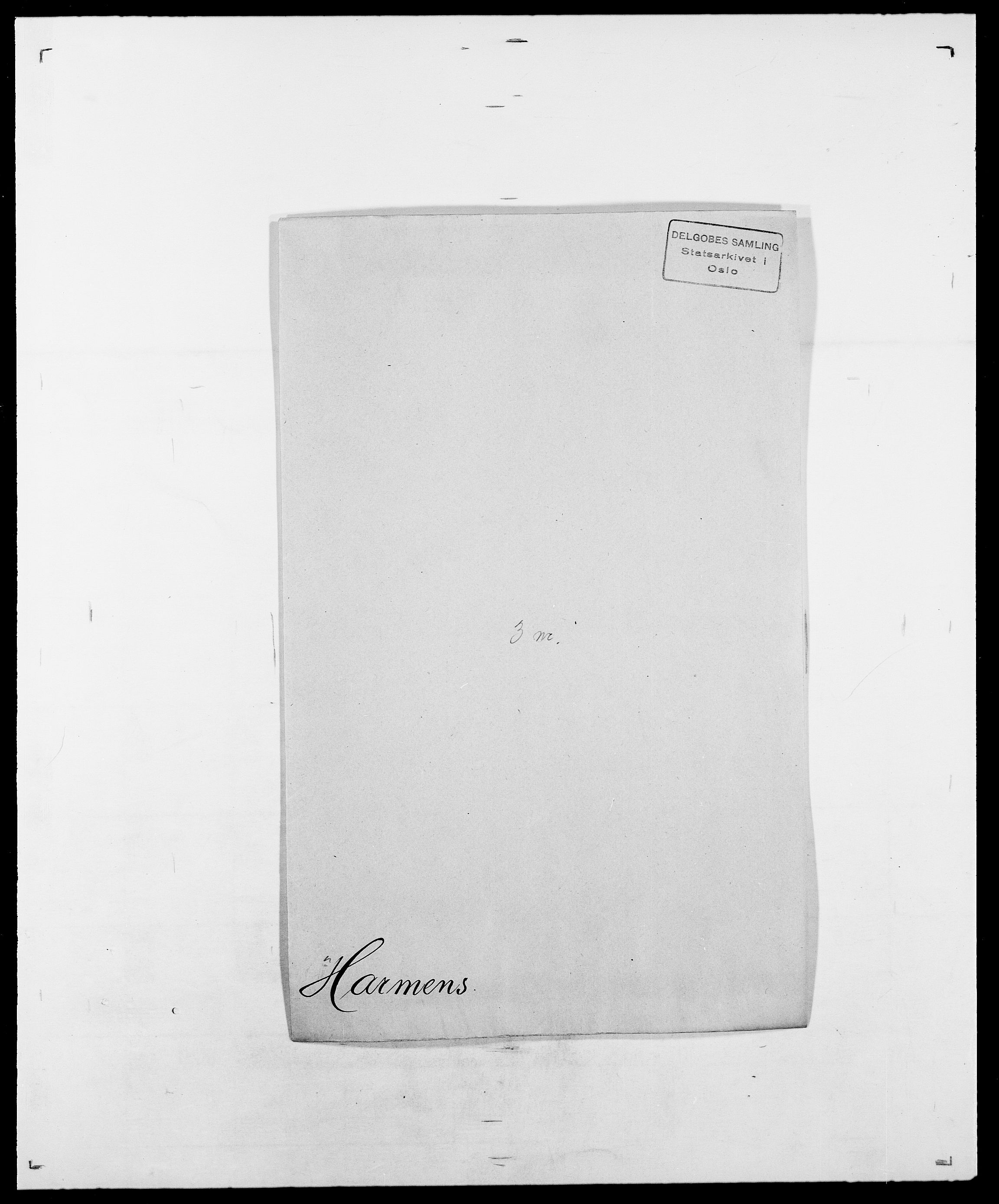 SAO, Delgobe, Charles Antoine - samling, D/Da/L0016: Hamborg - Hektoen, s. 433