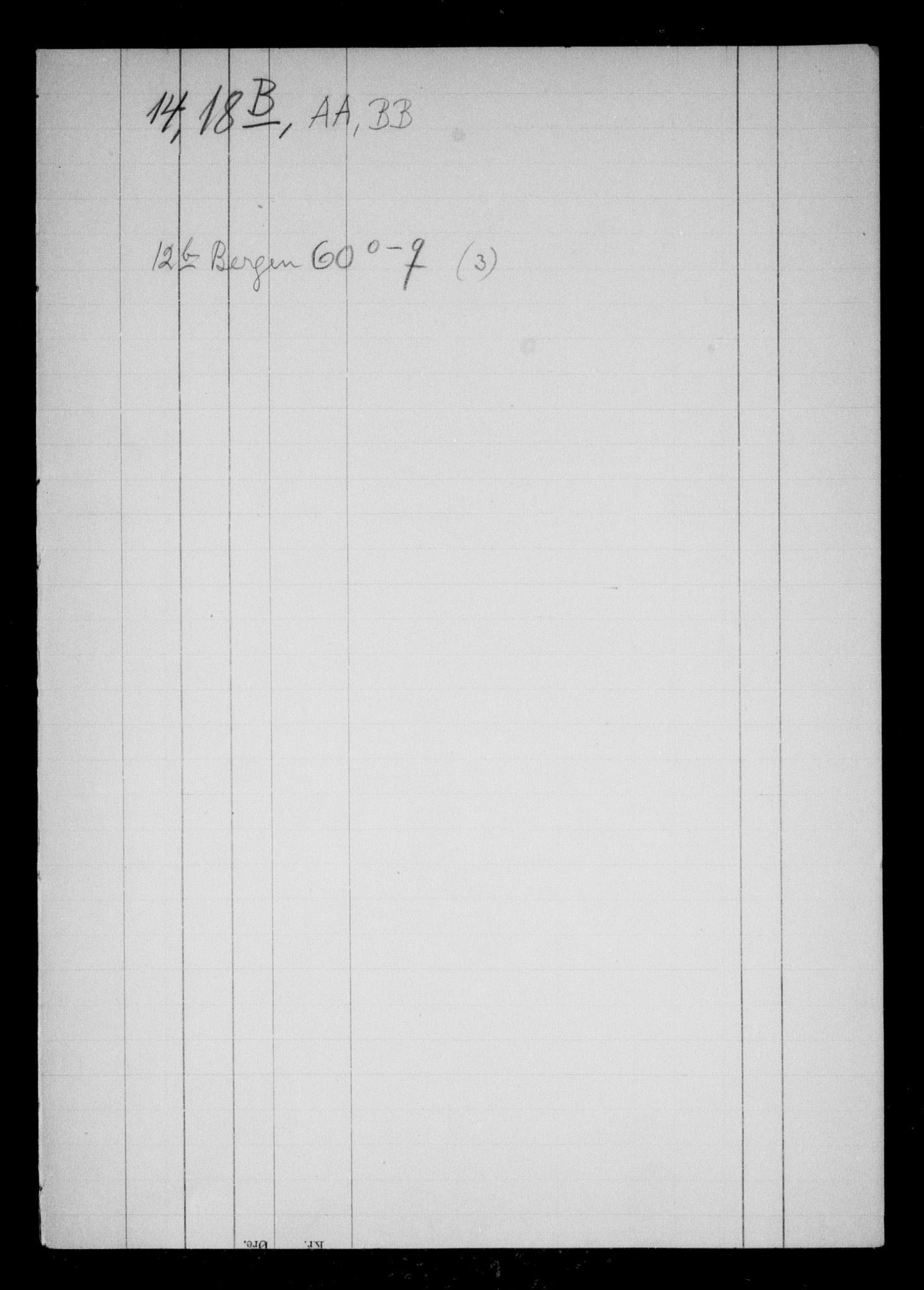 RA, Danske Kanselli, Skapsaker, F/L0056: Skap 14, pakke 18B, litra AA-54, 1590-1722, s. 3