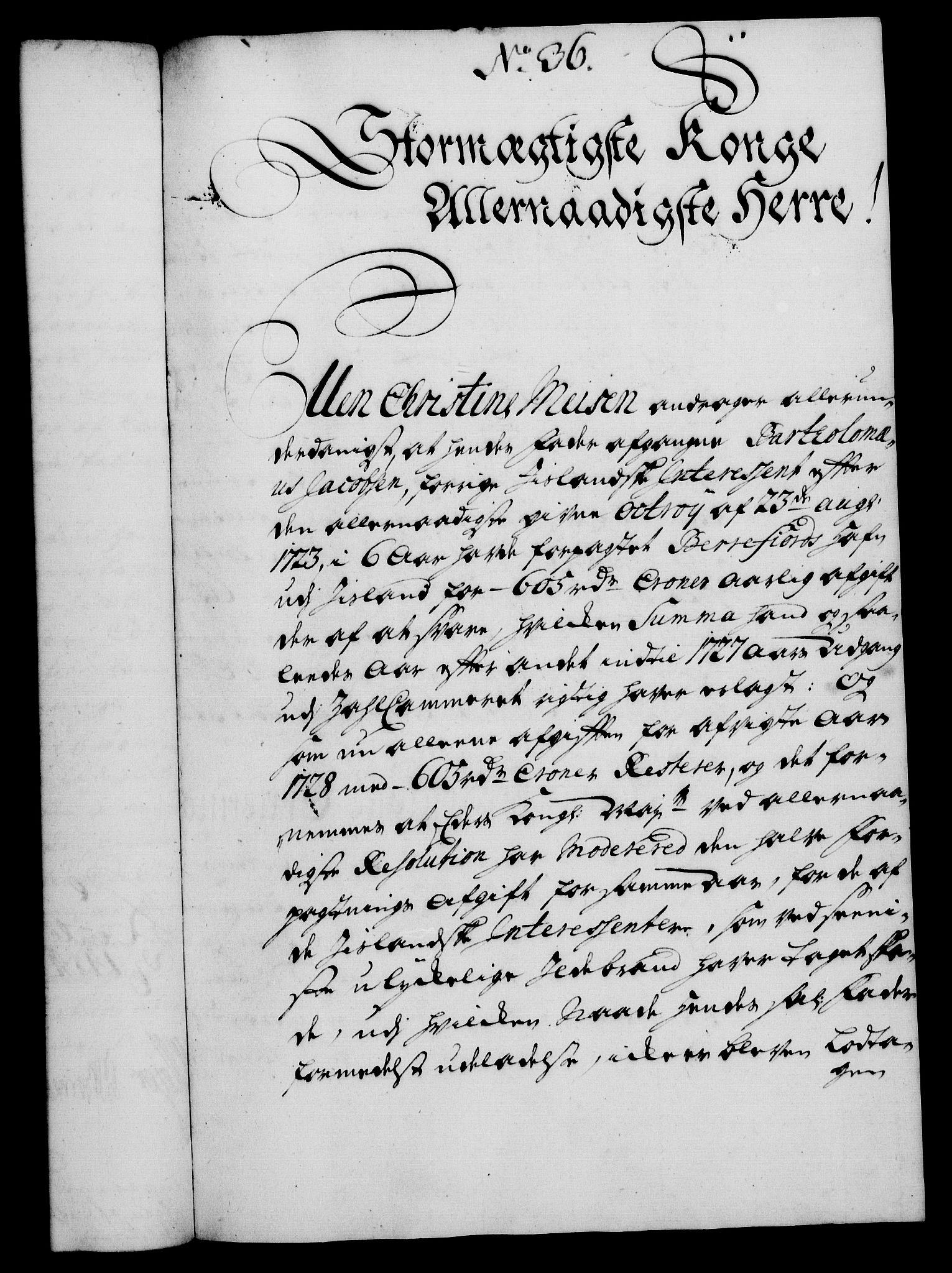 RA, Rentekammeret, Kammerkanselliet, G/Gf/Gfa/L0012: Norsk relasjons- og resolusjonsprotokoll (merket RK 52.12), 1729, s. 214