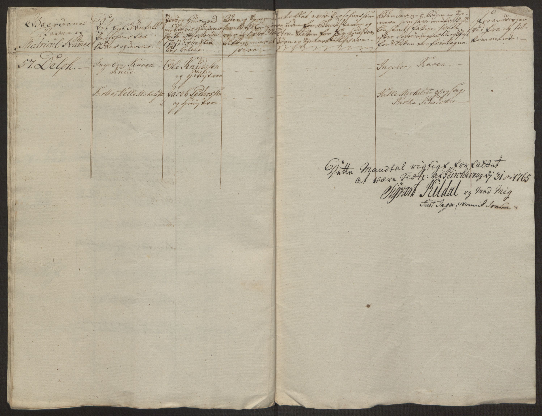 RA, Rentekammeret inntil 1814, Realistisk ordnet avdeling, Ol/L0022a: [Gg 10]: Ekstraskatten, 23.09.1762. Nordlands amt, 1763-1769, s. 198