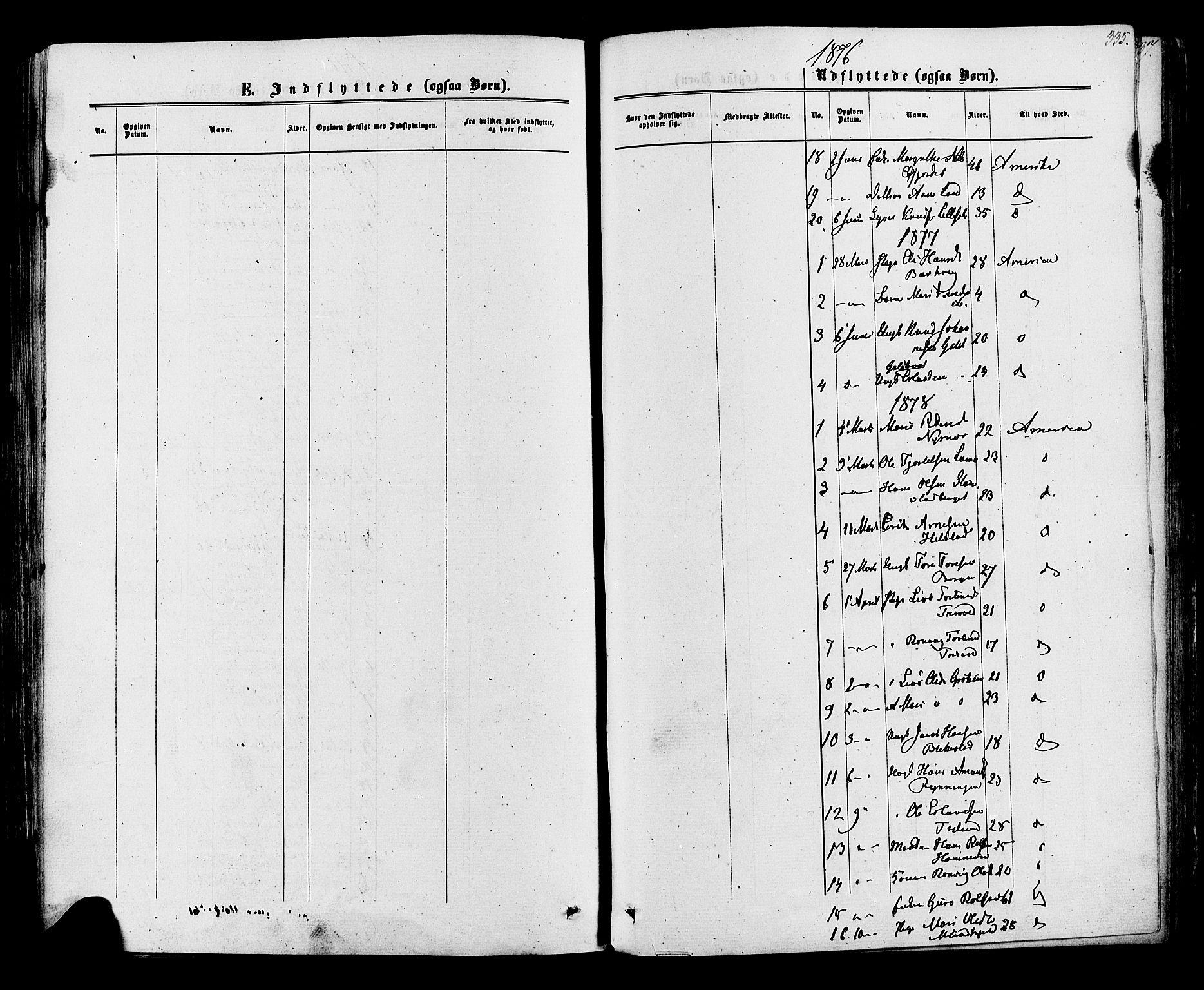 SAH, Lom prestekontor, K/L0007: Ministerialbok nr. 7, 1863-1884, s. 335