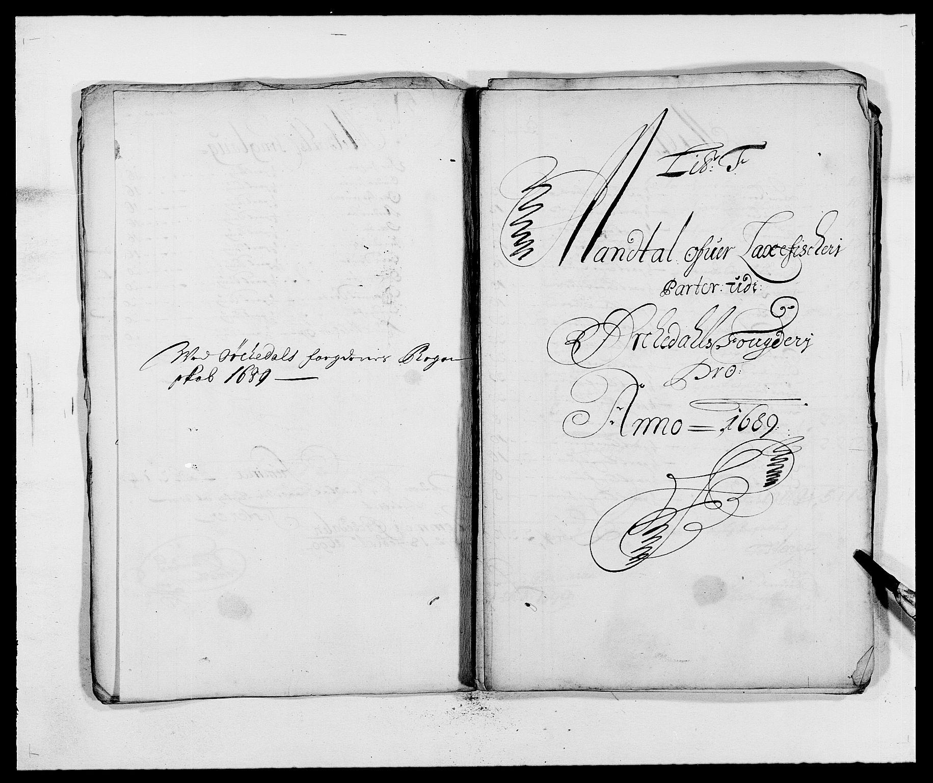 RA, Rentekammeret inntil 1814, Reviderte regnskaper, Fogderegnskap, R58/L3936: Fogderegnskap Orkdal, 1689-1690, s. 70