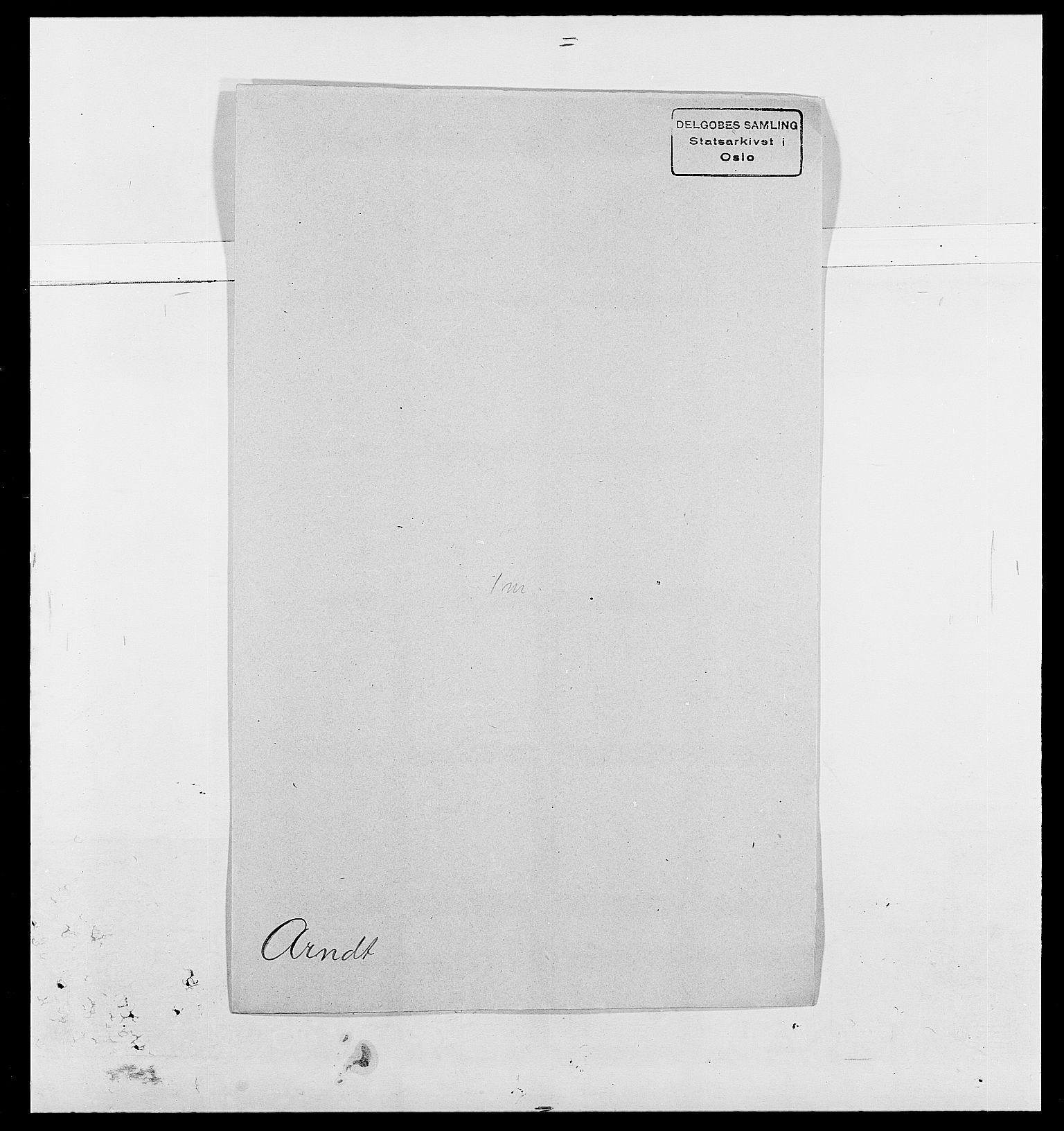 SAO, Delgobe, Charles Antoine - samling, D/Da/L0002: Anker, Ancher - Bauner, s. 315