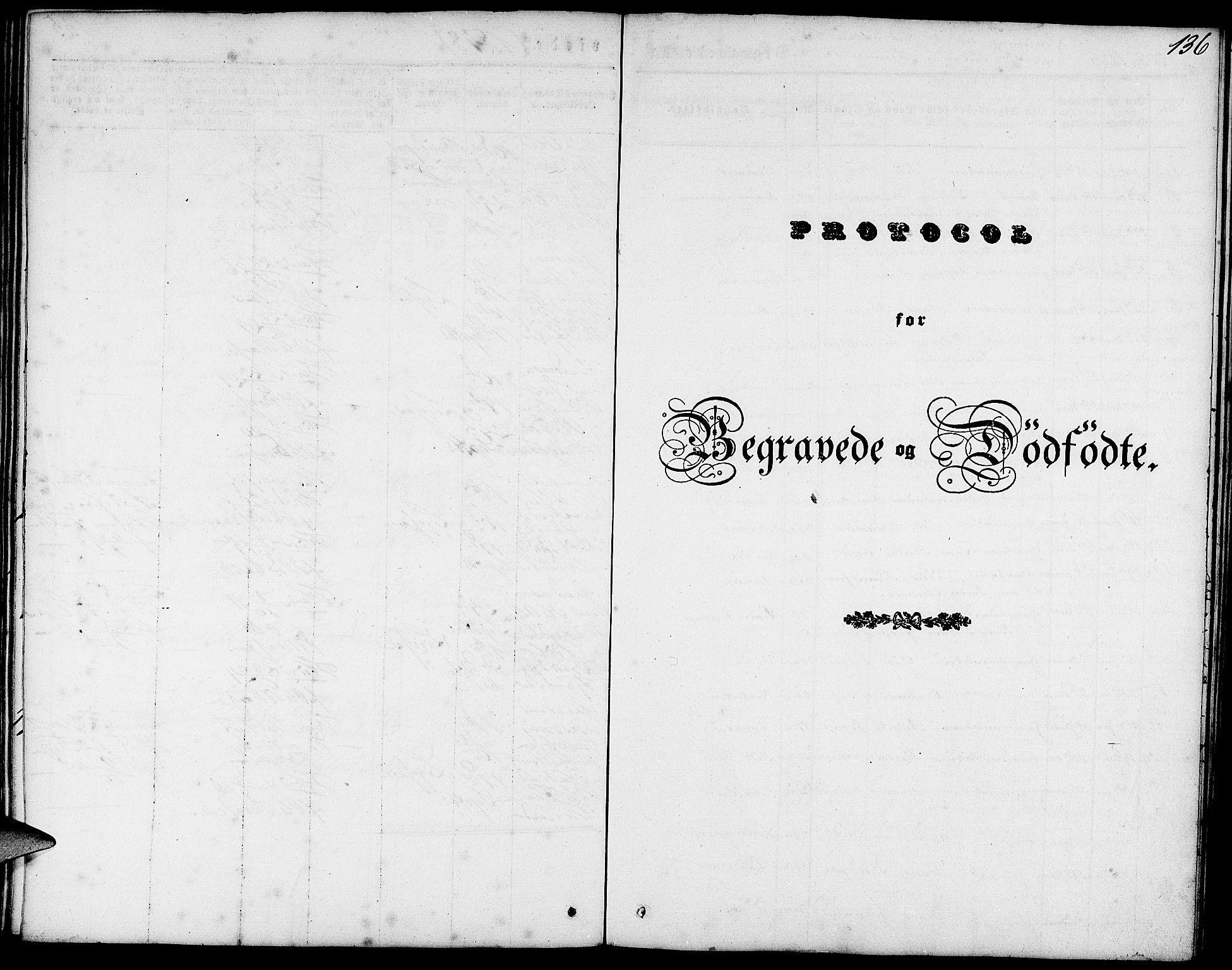 SAB, Fjell sokneprestembete, H/Haa: Ministerialbok nr. A 1, 1835-1850, s. 136