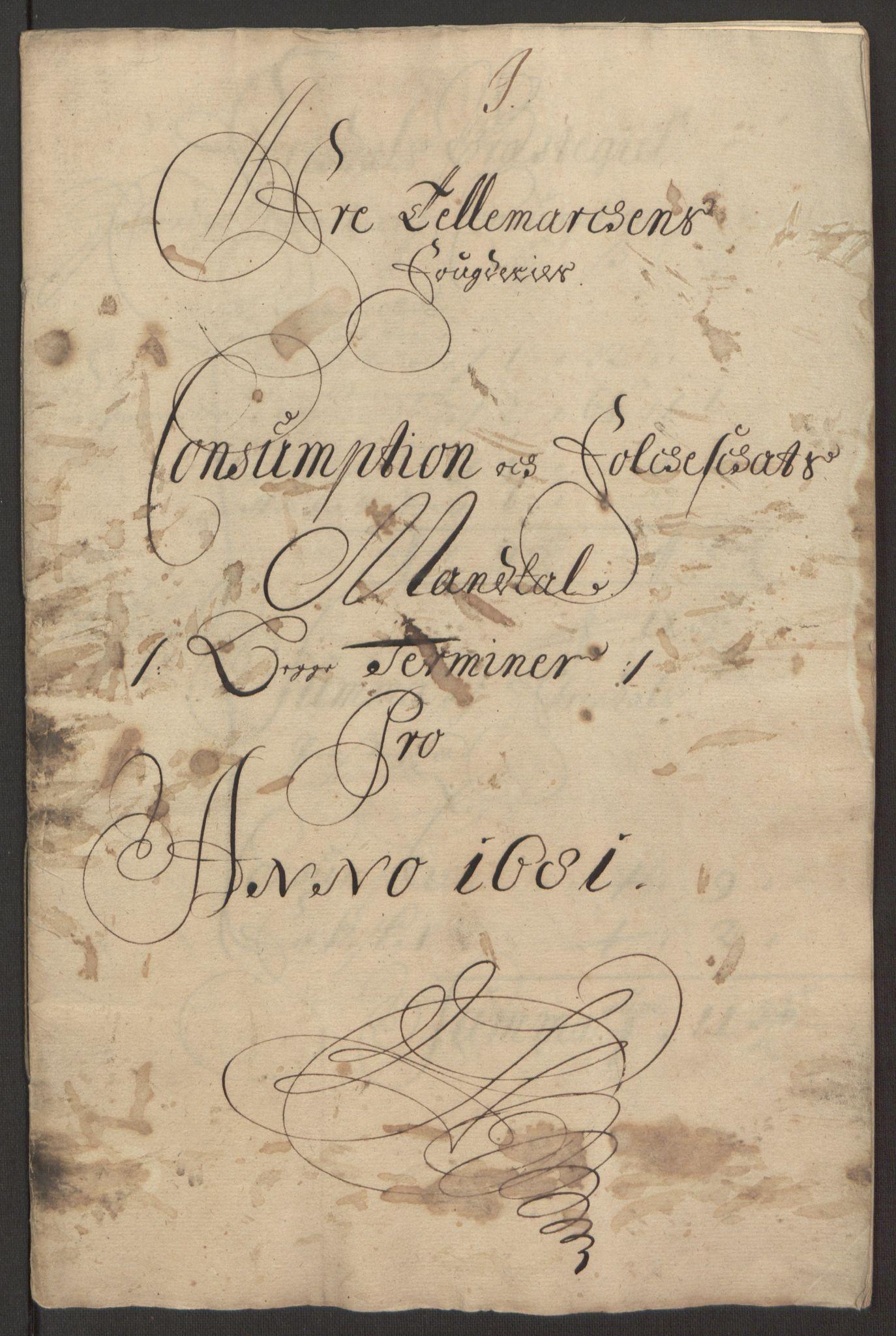 RA, Rentekammeret inntil 1814, Reviderte regnskaper, Fogderegnskap, R35/L2077: Fogderegnskap Øvre og Nedre Telemark, 1680-1684, s. 278