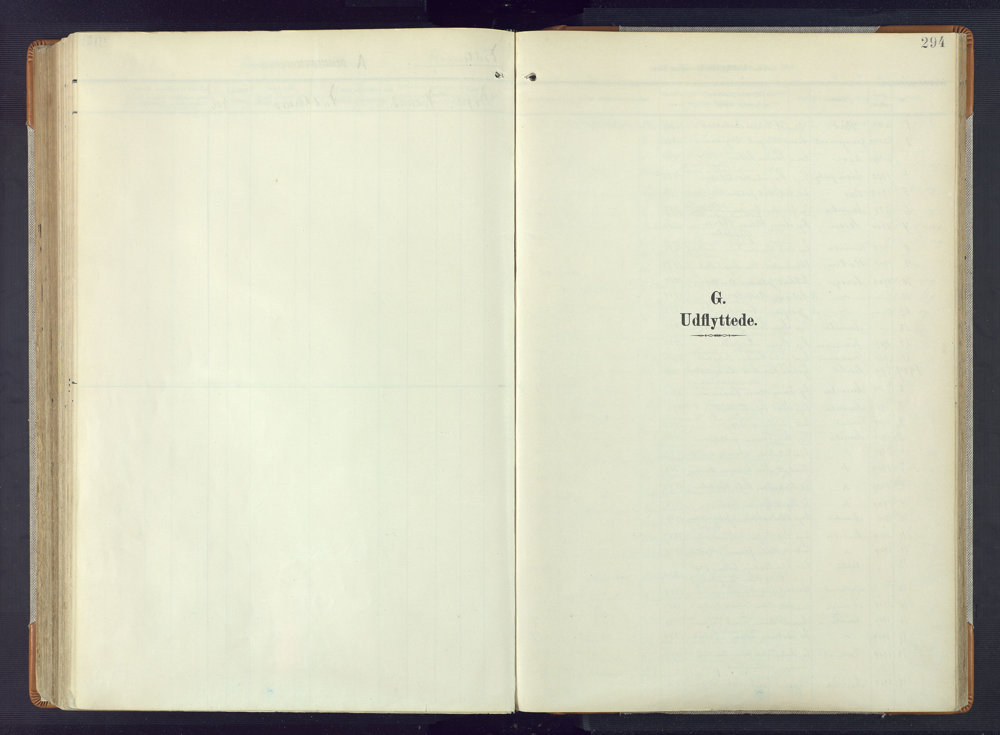 SAK, Øyestad sokneprestkontor, F/Fa/L0019: Ministerialbok nr. A 19, 1908-1922, s. 294