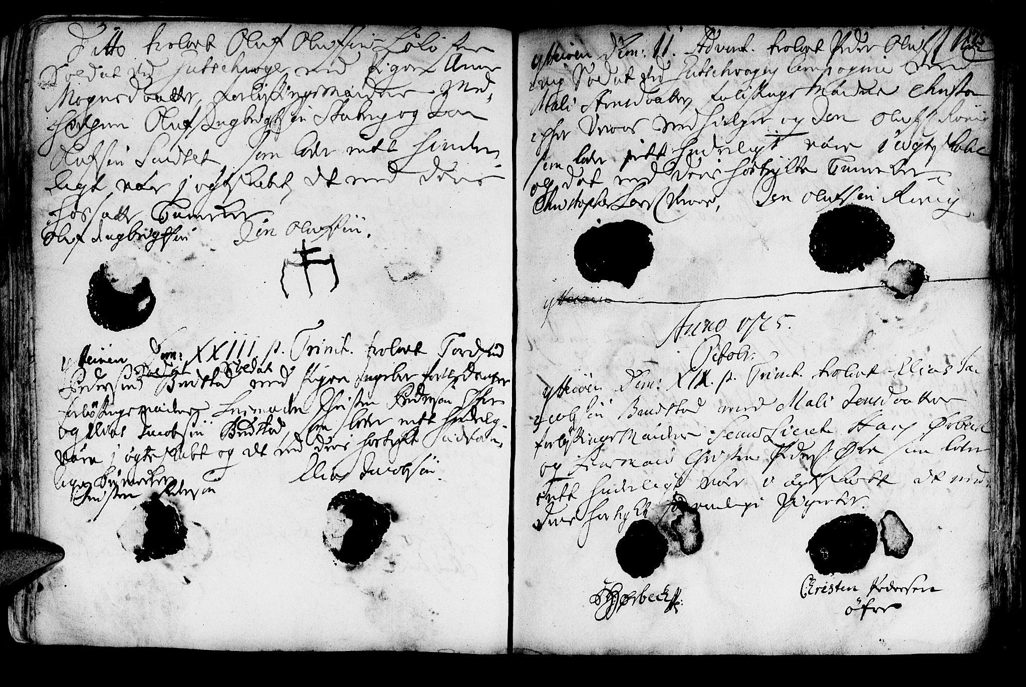 SAT, Ministerialprotokoller, klokkerbøker og fødselsregistre - Nord-Trøndelag, 722/L0215: Ministerialbok nr. 722A02, 1718-1755, s. 175