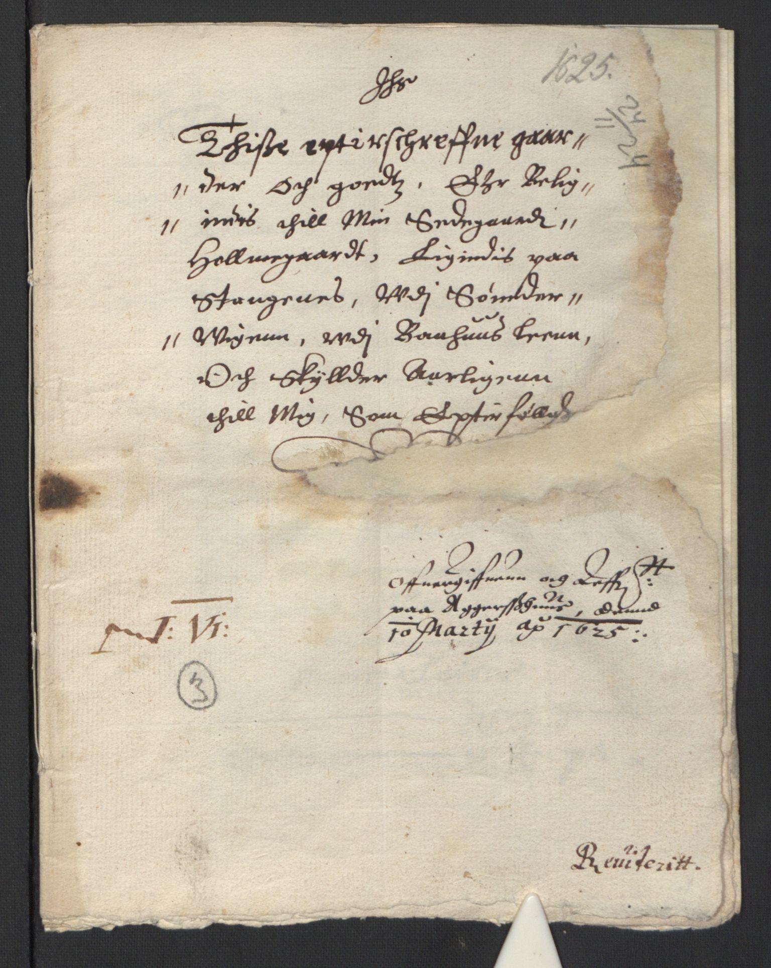 RA, Stattholderembetet 1572-1771, Ek/L0007: Jordebøker til utlikning av rosstjeneste 1624-1626:, 1624-1625, s. 202