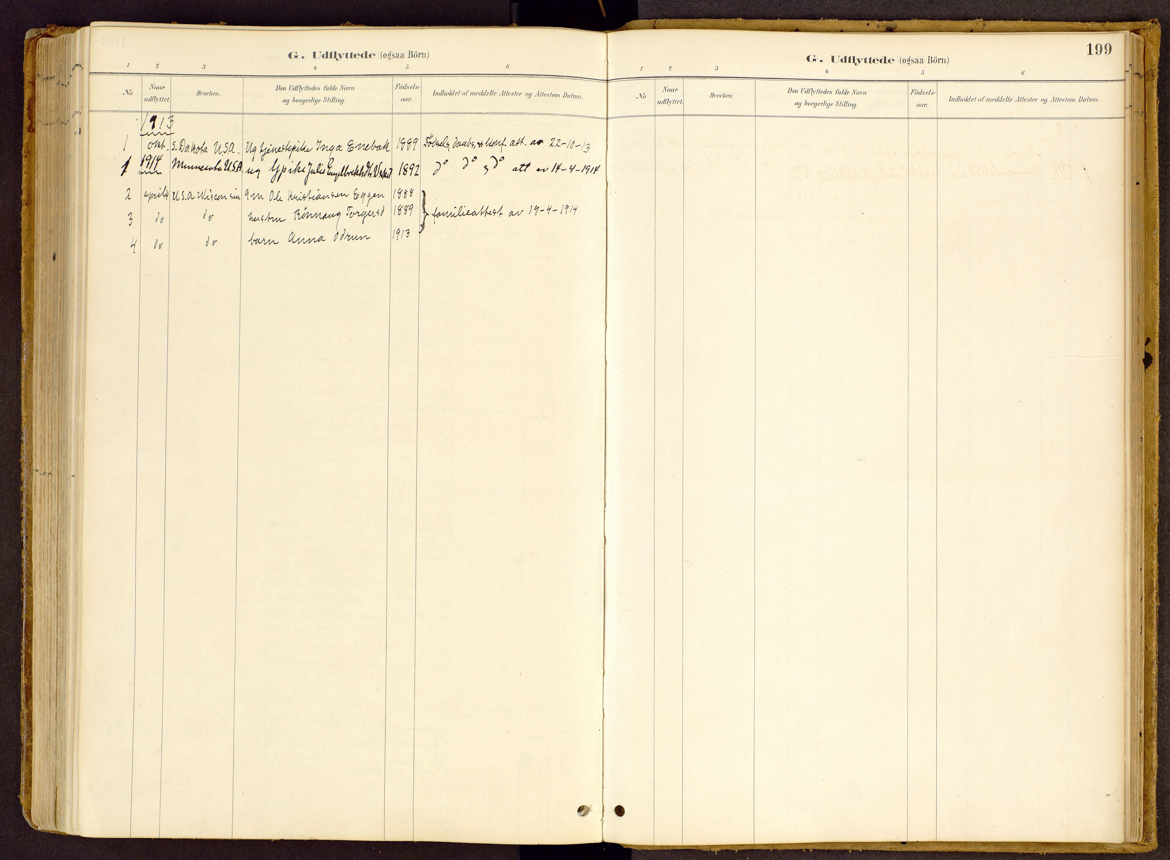 SAH, Vestre Gausdal prestekontor, Ministerialbok nr. 2, 1887-1918, s. 199