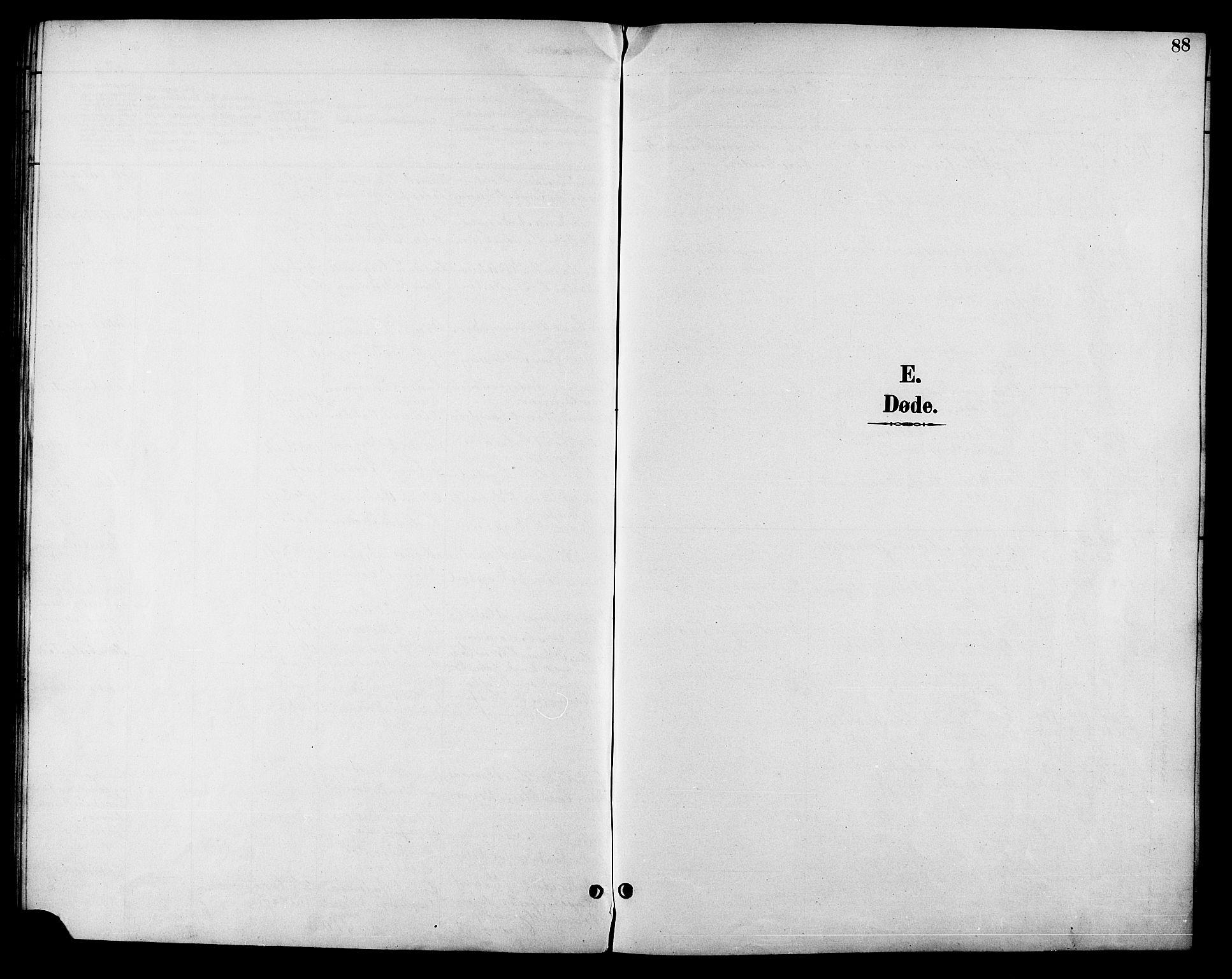 SAT, Ministerialprotokoller, klokkerbøker og fødselsregistre - Sør-Trøndelag, 685/L0978: Klokkerbok nr. 685C03, 1891-1907, s. 88