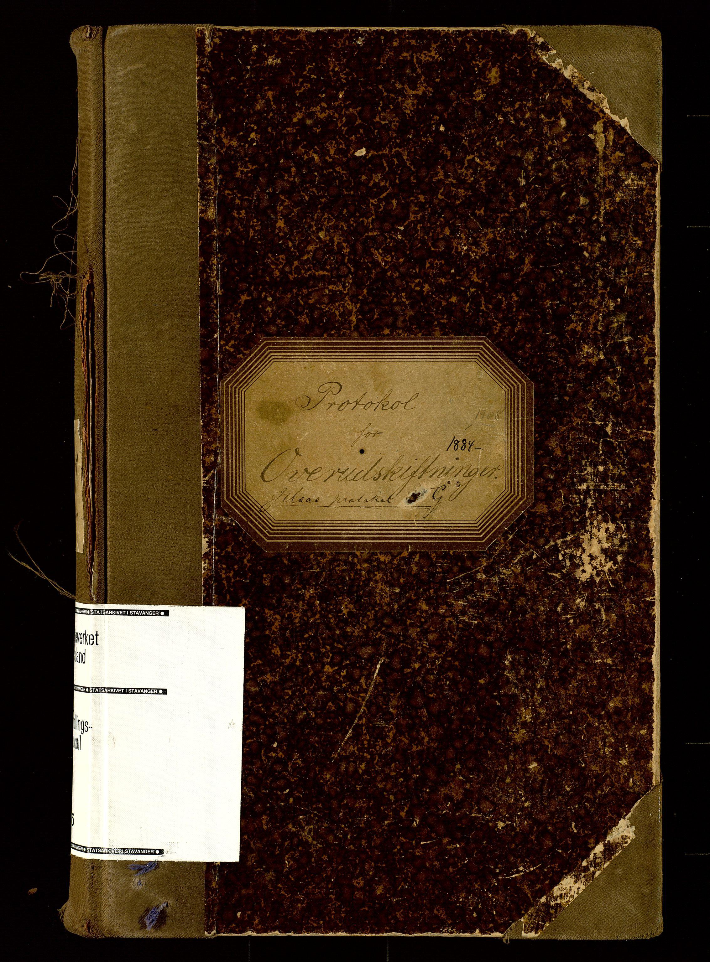 SAST, Rogaland jordskifterett, Oa/L0056: Forhandlingsprotokoll, 1884-1908