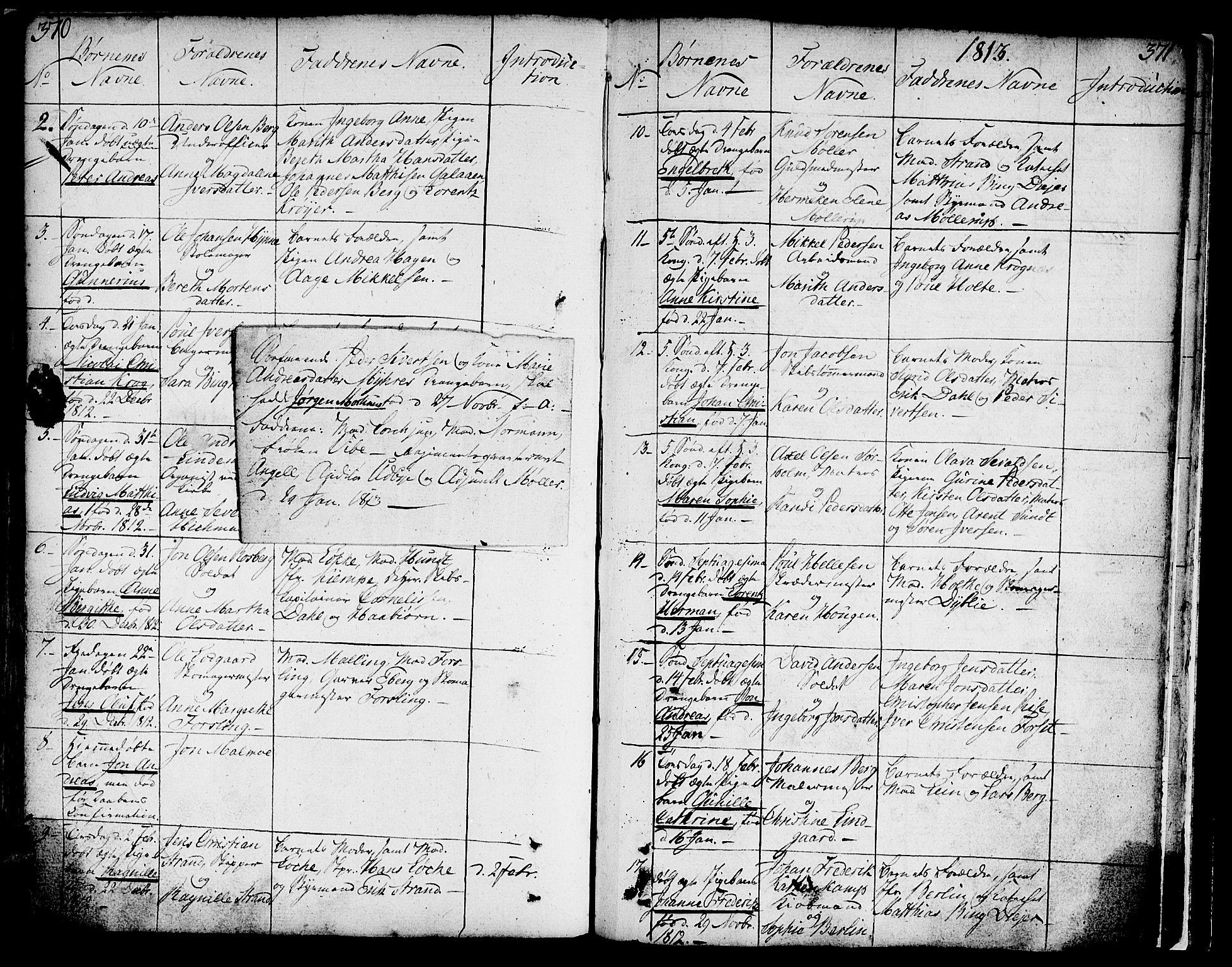 SAT, Ministerialprotokoller, klokkerbøker og fødselsregistre - Sør-Trøndelag, 602/L0104: Ministerialbok nr. 602A02, 1774-1814, s. 370-371