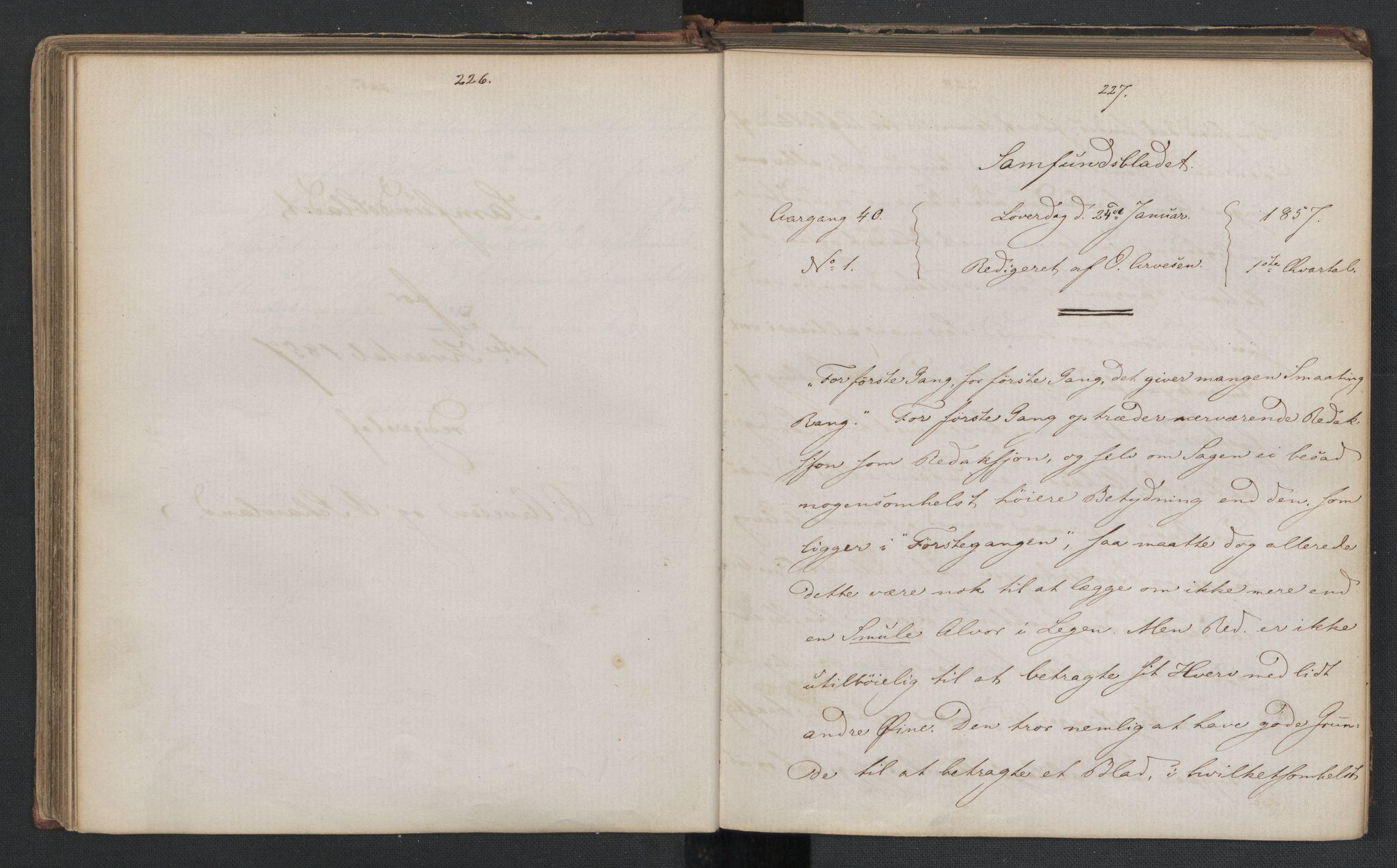 RA, Det Norske Studentersamfund, X/Xa/L0006, 1856-1857, s. 117