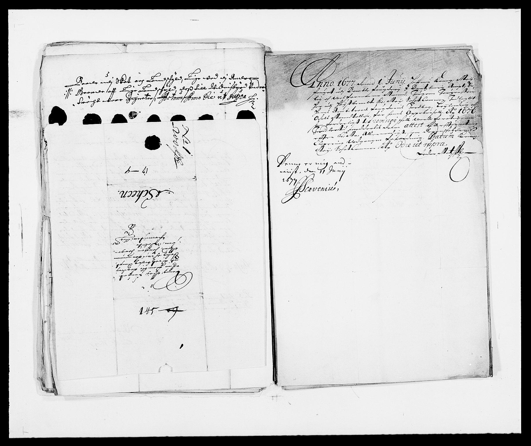 RA, Rentekammeret inntil 1814, Reviderte regnskaper, Fogderegnskap, R34/L2041: Fogderegnskap Bamble, 1670-1672, s. 427