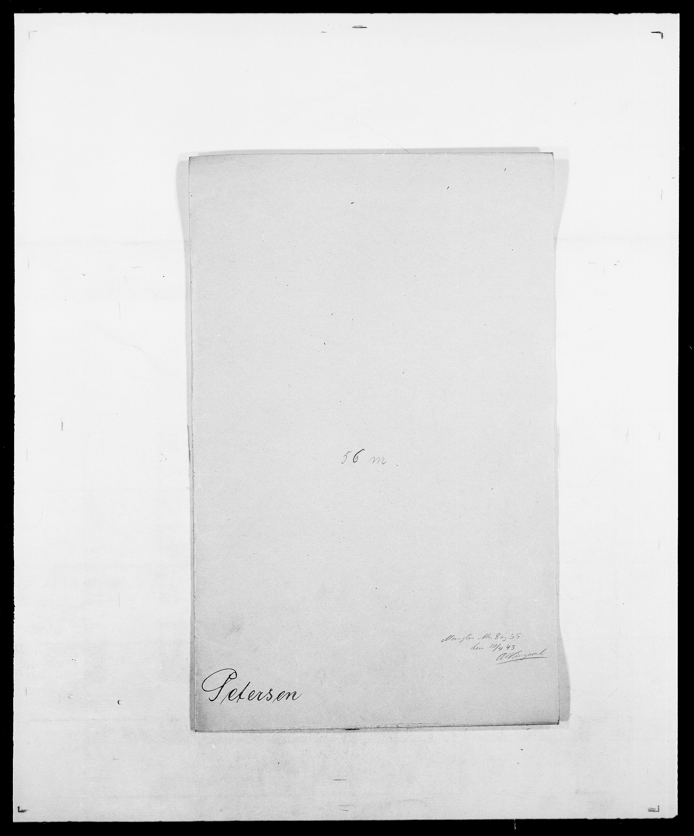 SAO, Delgobe, Charles Antoine - samling, D/Da/L0030: Paars - Pittelkov, s. 386