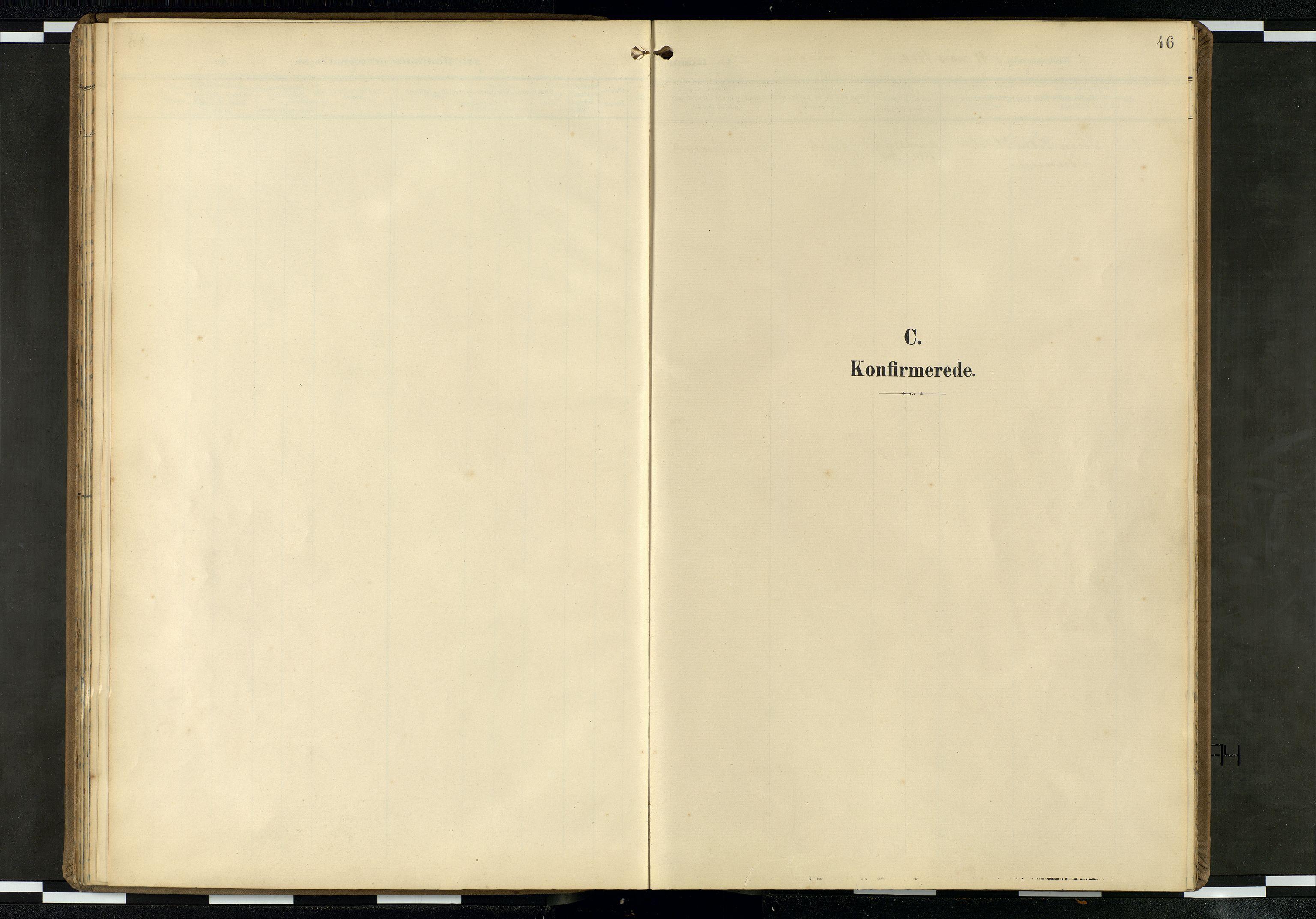 SAB, Privatarkiv 100 - Den norske sjømannsmisjon i utlandet/Skotske havner (Leith, Glasgow), H/Ha/Haa/L0004: Ministerialbok nr. A 4, 1899-1949, s. 45b-46a