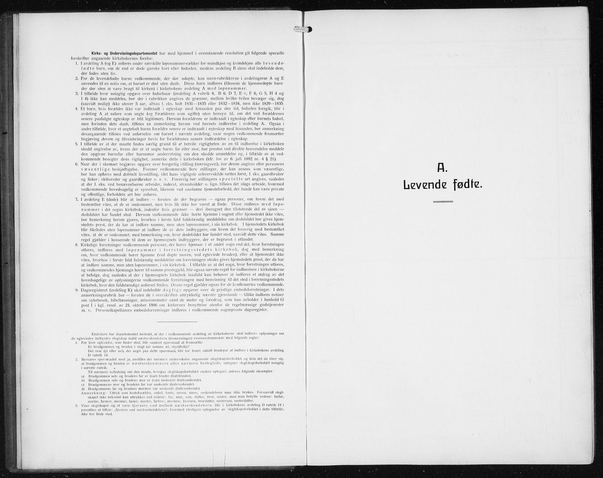 SAB, Privatarkiv 113 - Den norske sjømannsmisjon i utlandet/Philadelphia, H/Ha/L0001: Ministerialbok nr. A 1, 1912-1931