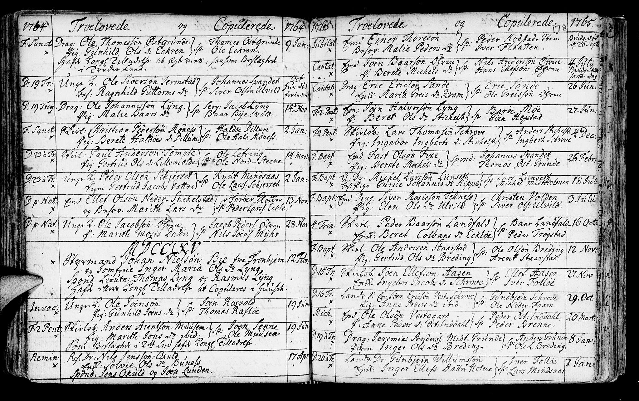SAT, Ministerialprotokoller, klokkerbøker og fødselsregistre - Nord-Trøndelag, 723/L0231: Ministerialbok nr. 723A02, 1748-1780, s. 178