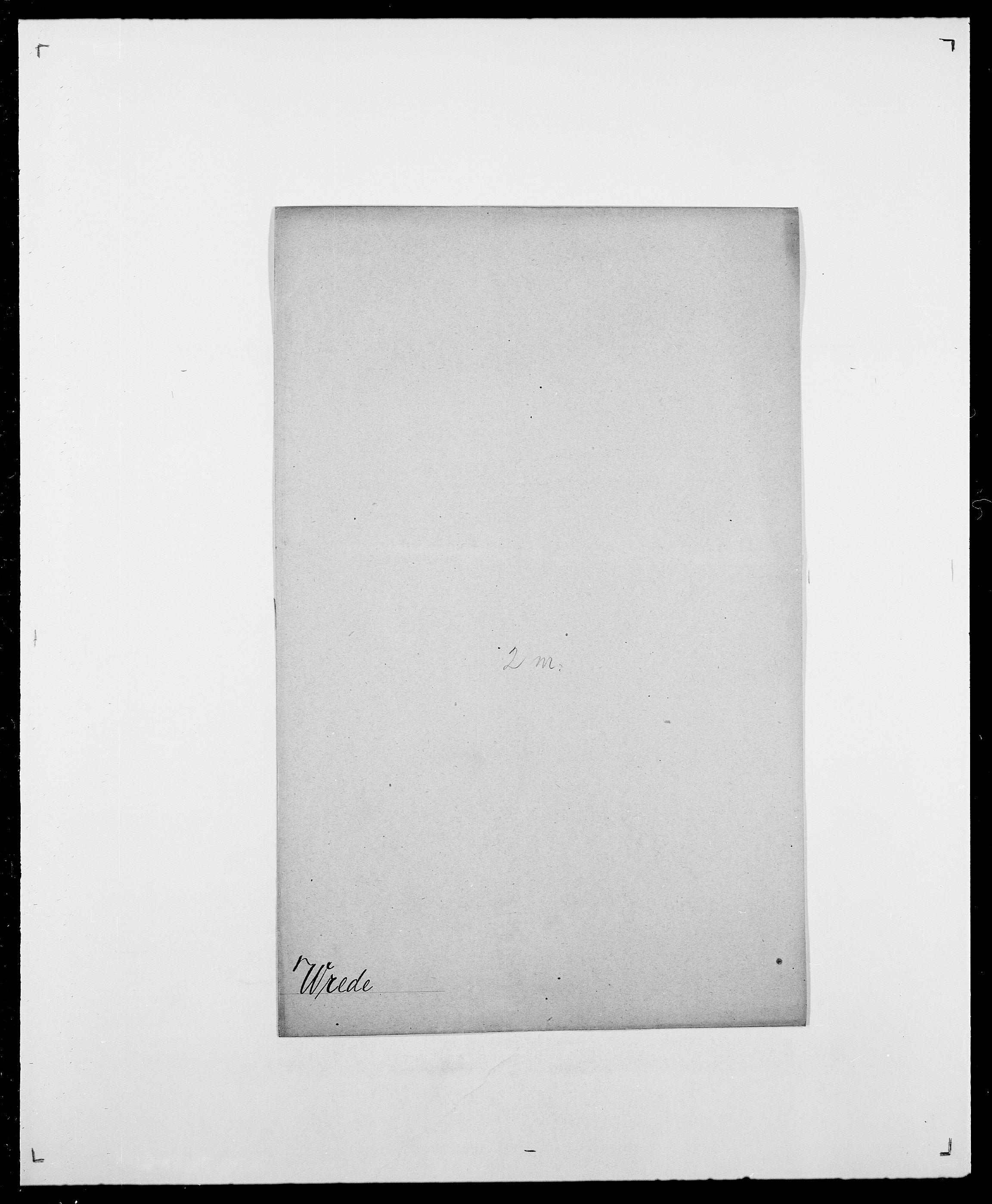 SAO, Delgobe, Charles Antoine - samling, D/Da/L0042: Vilain - Wulf, Wulff, se også Wolf, s. 744