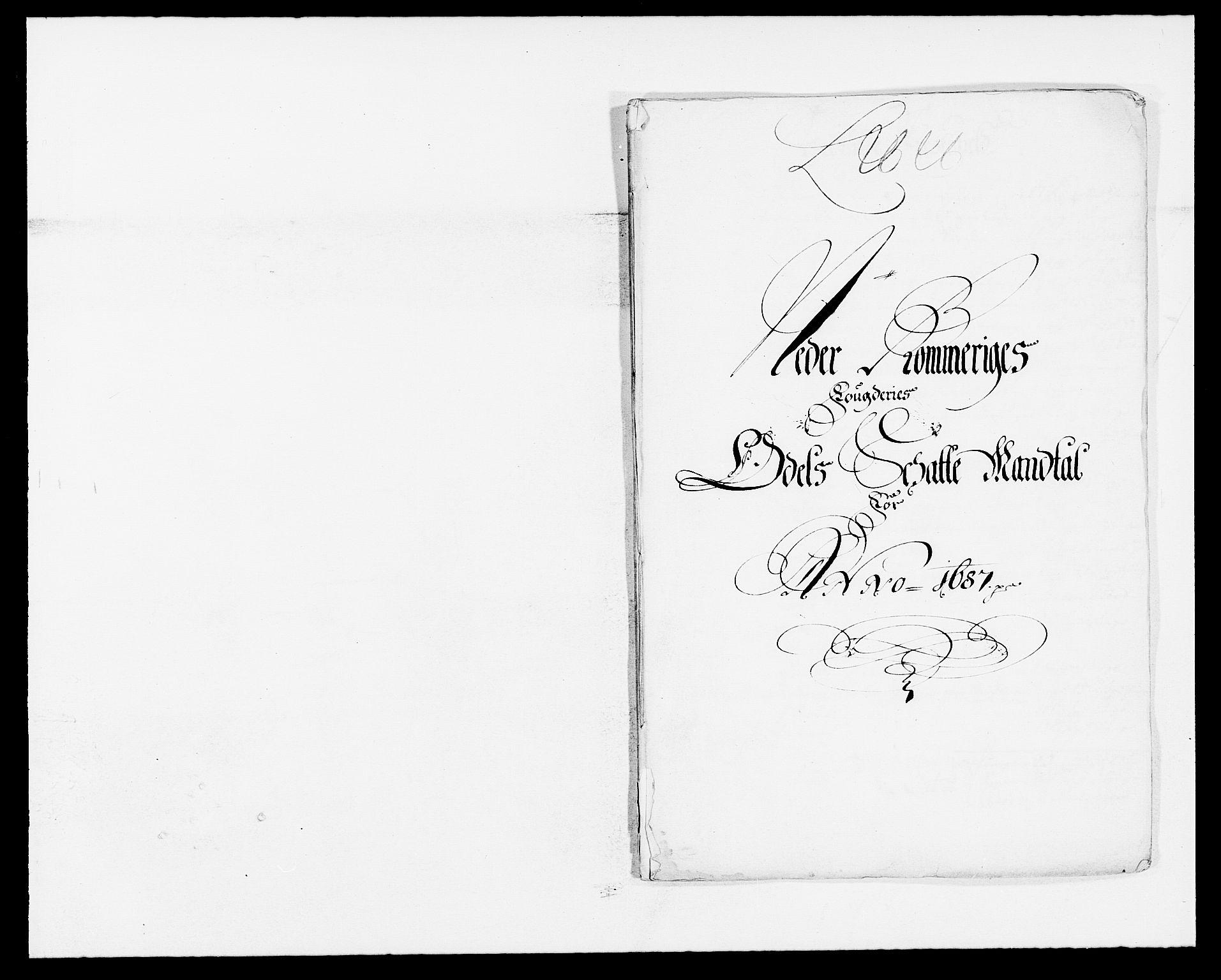 RA, Rentekammeret inntil 1814, Reviderte regnskaper, Fogderegnskap, R11/L0572: Fogderegnskap Nedre Romerike, 1686-1687, s. 288