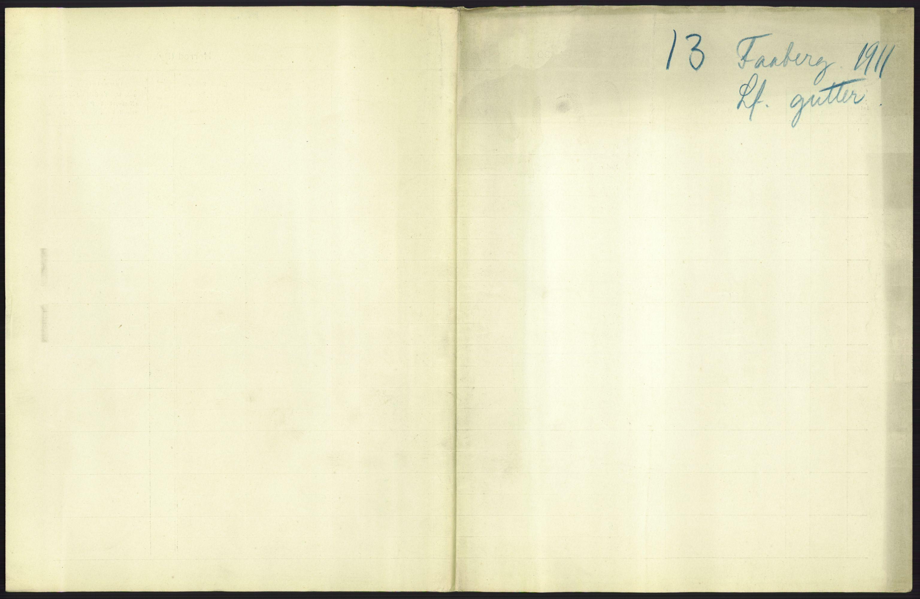 RA, Statistisk sentralbyrå, Sosiodemografiske emner, Befolkning, D/Df/Dfb/Dfba/L0013: Kristians amt:  Levendefødte menn og kvinner. Bygder og byer., 1911