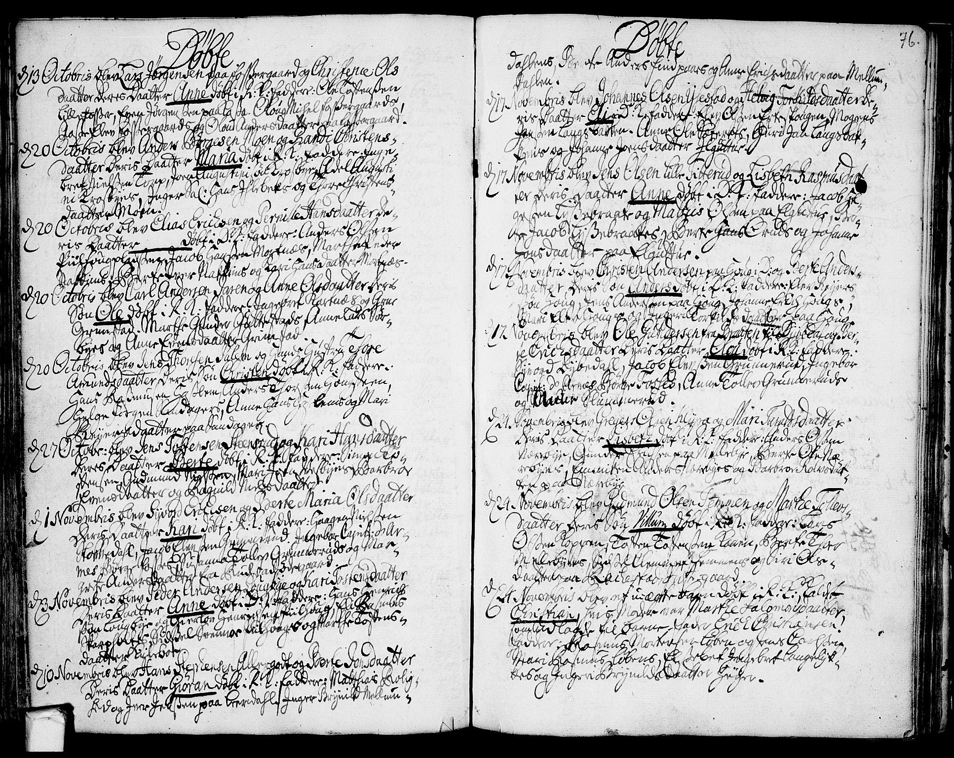 SAO, Rakkestad prestekontor Kirkebøker, F/Fa/L0002: Ministerialbok nr. I 2, 1741-1751, s. 76