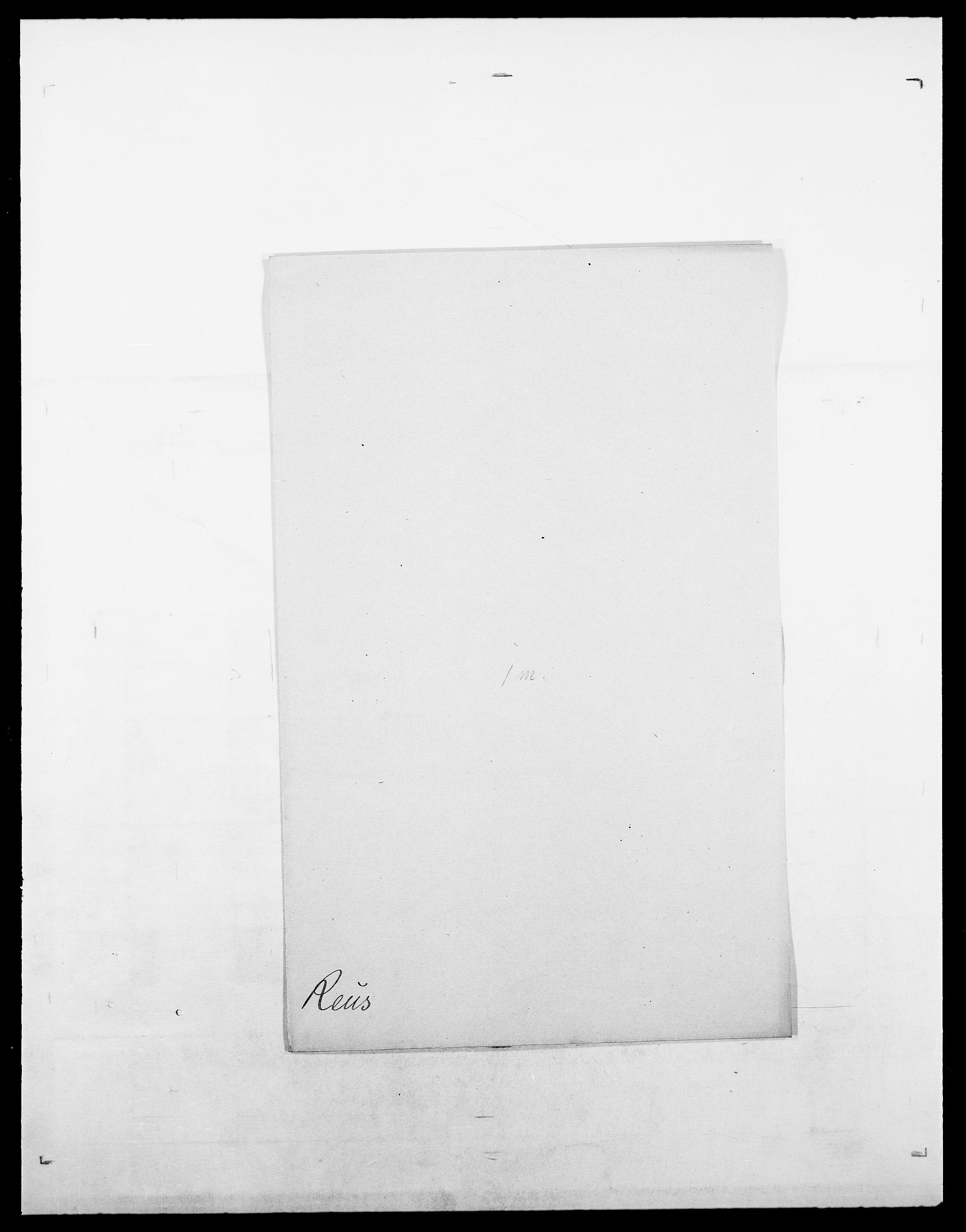 SAO, Delgobe, Charles Antoine - samling, D/Da/L0032: Rabakovsky - Rivertz, s. 454