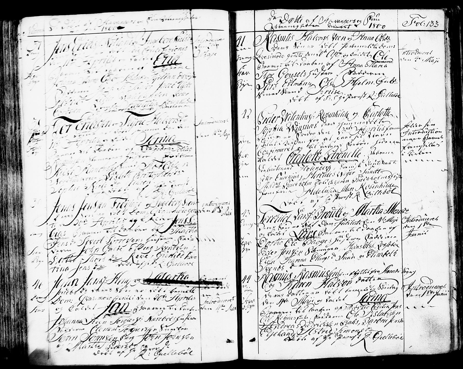SAST, Domkirken sokneprestkontor, 30/30BB/L0007: Klokkerbok nr. B 7, 1791-1813, s. 133