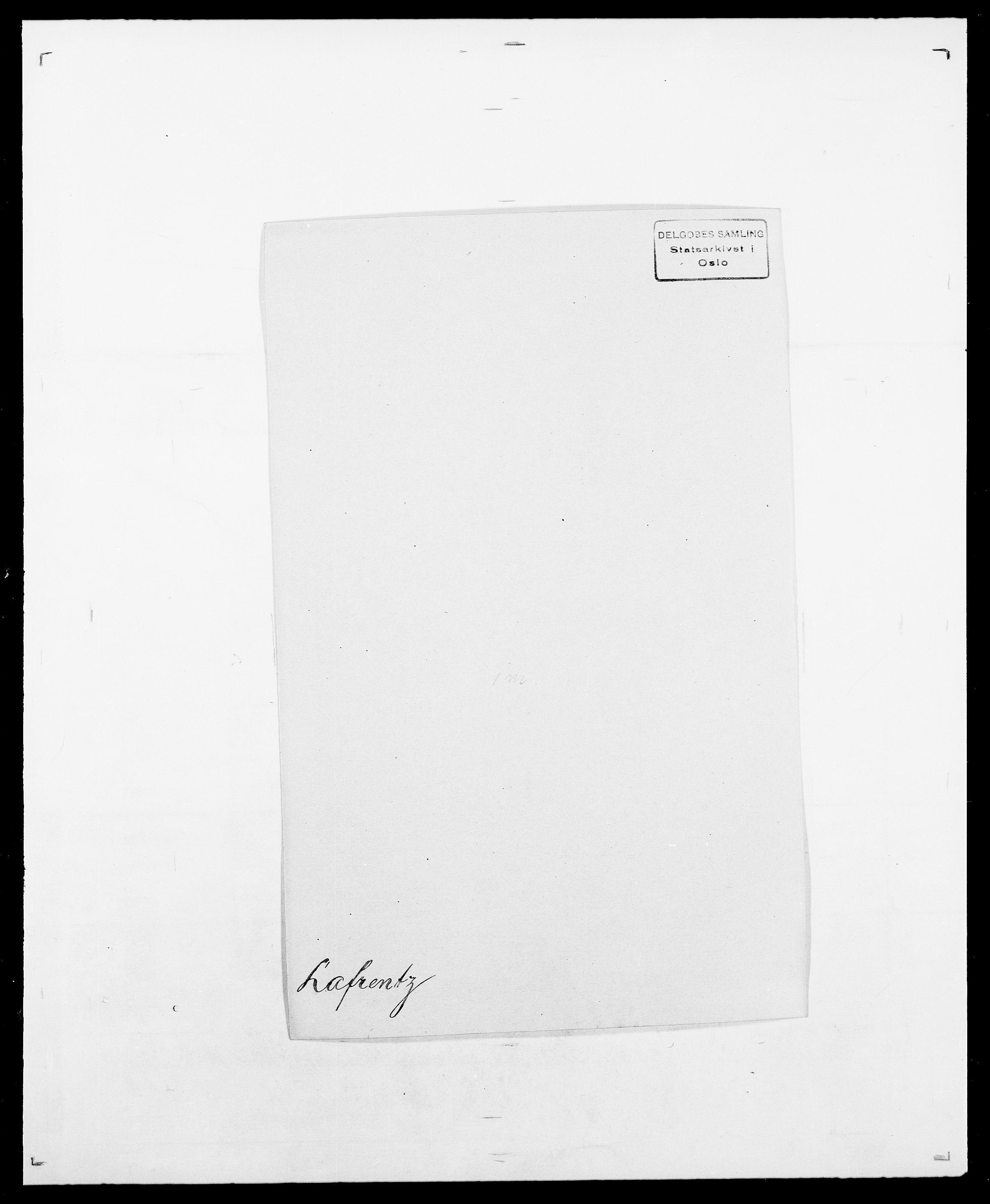SAO, Delgobe, Charles Antoine - samling, D/Da/L0022: Krog - Lasteen, s. 392