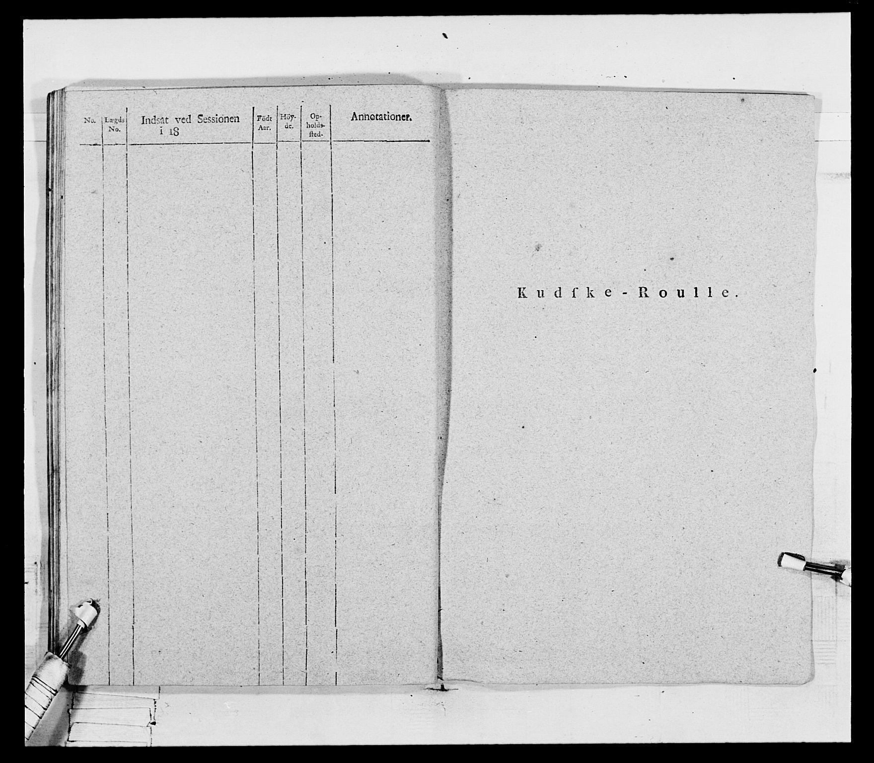 RA, Generalitets- og kommissariatskollegiet, Det kongelige norske kommissariatskollegium, E/Eh/L0069: Opplandske gevorbne infanteriregiment, 1810-1818, s. 150