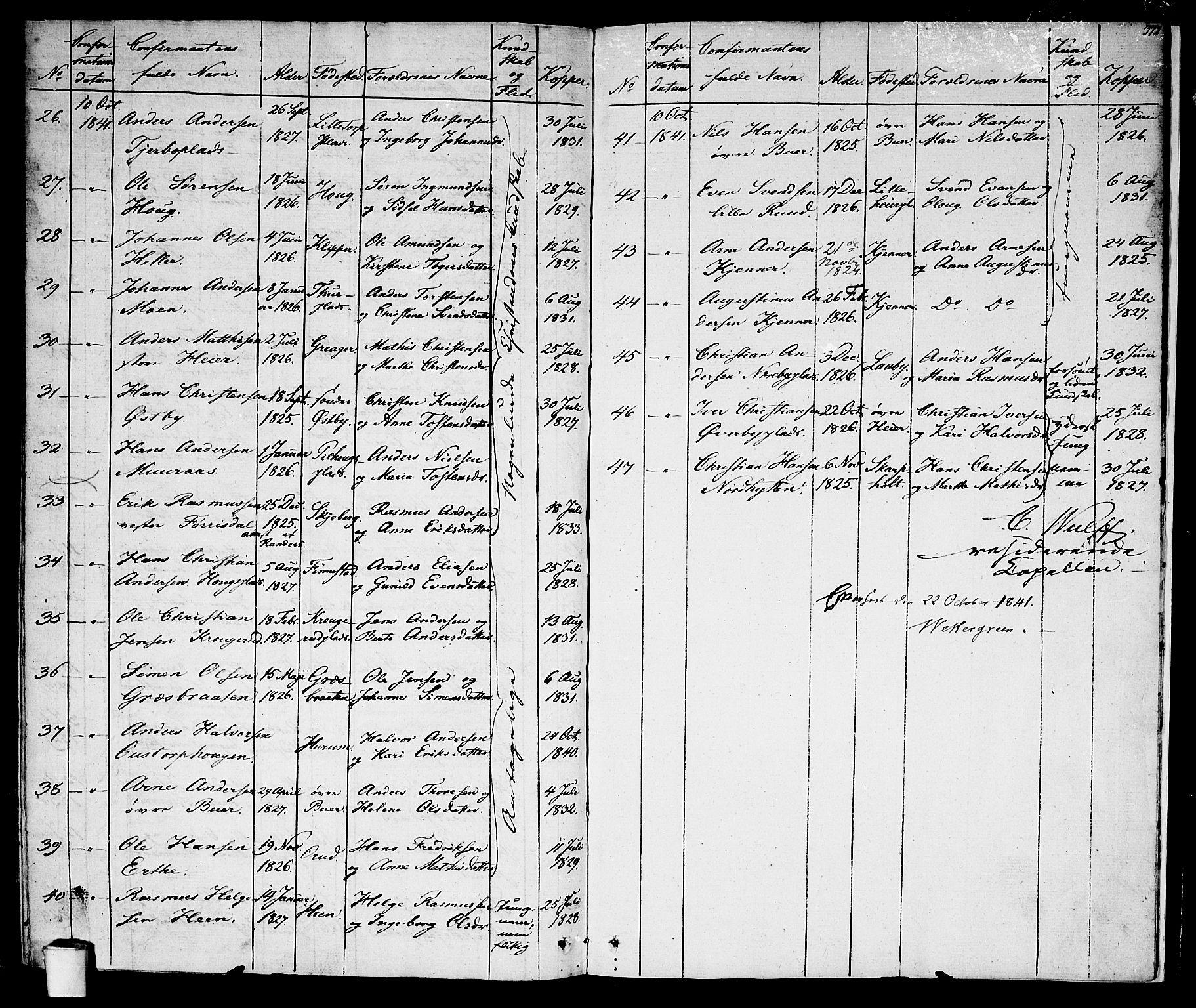 SAO, Rakkestad prestekontor Kirkebøker, F/Fa/L0007: Ministerialbok nr. I 7, 1825-1841, s. 372