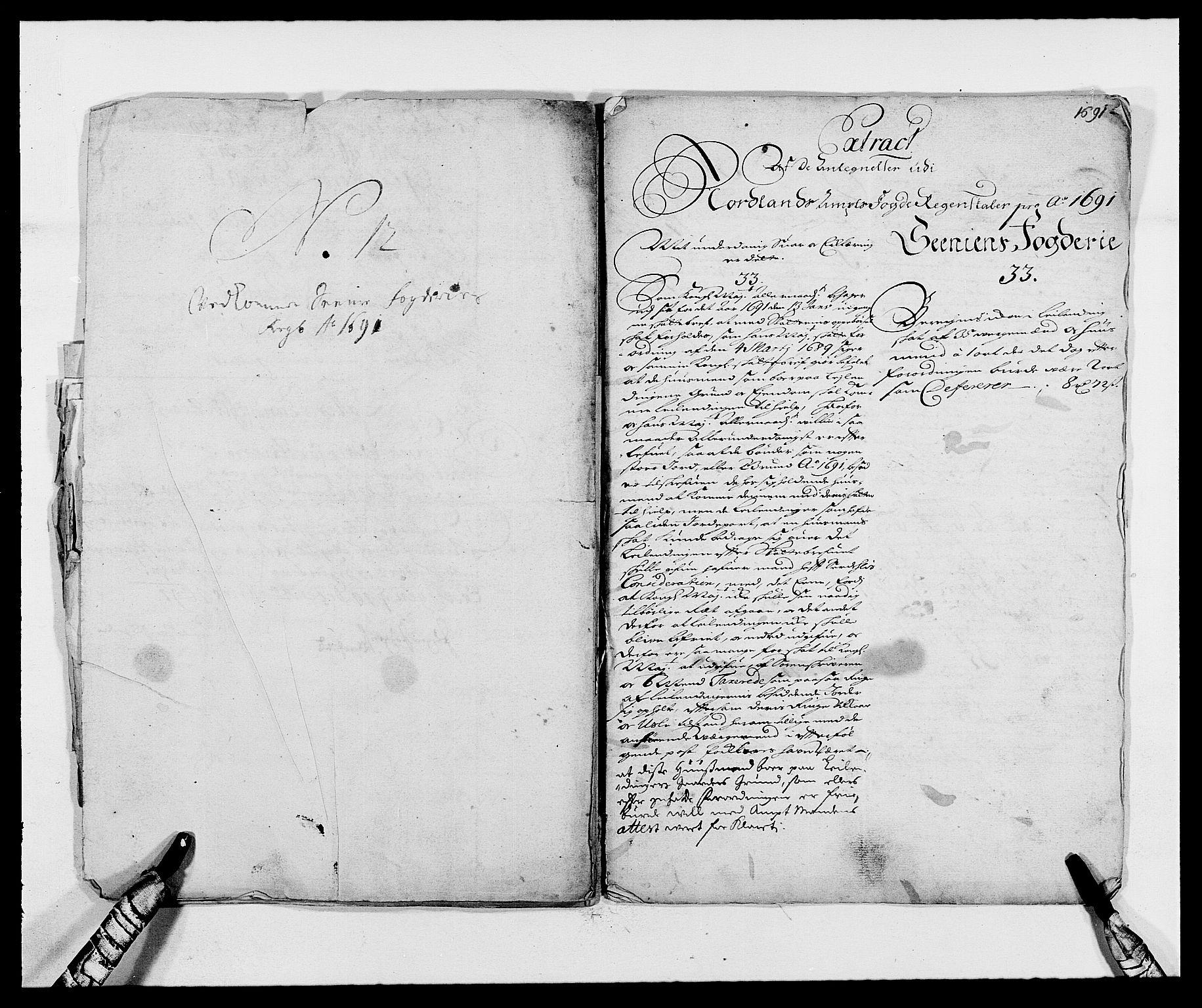 RA, Rentekammeret inntil 1814, Reviderte regnskaper, Fogderegnskap, R68/L4752: Fogderegnskap Senja og Troms, 1691-1693, s. 147