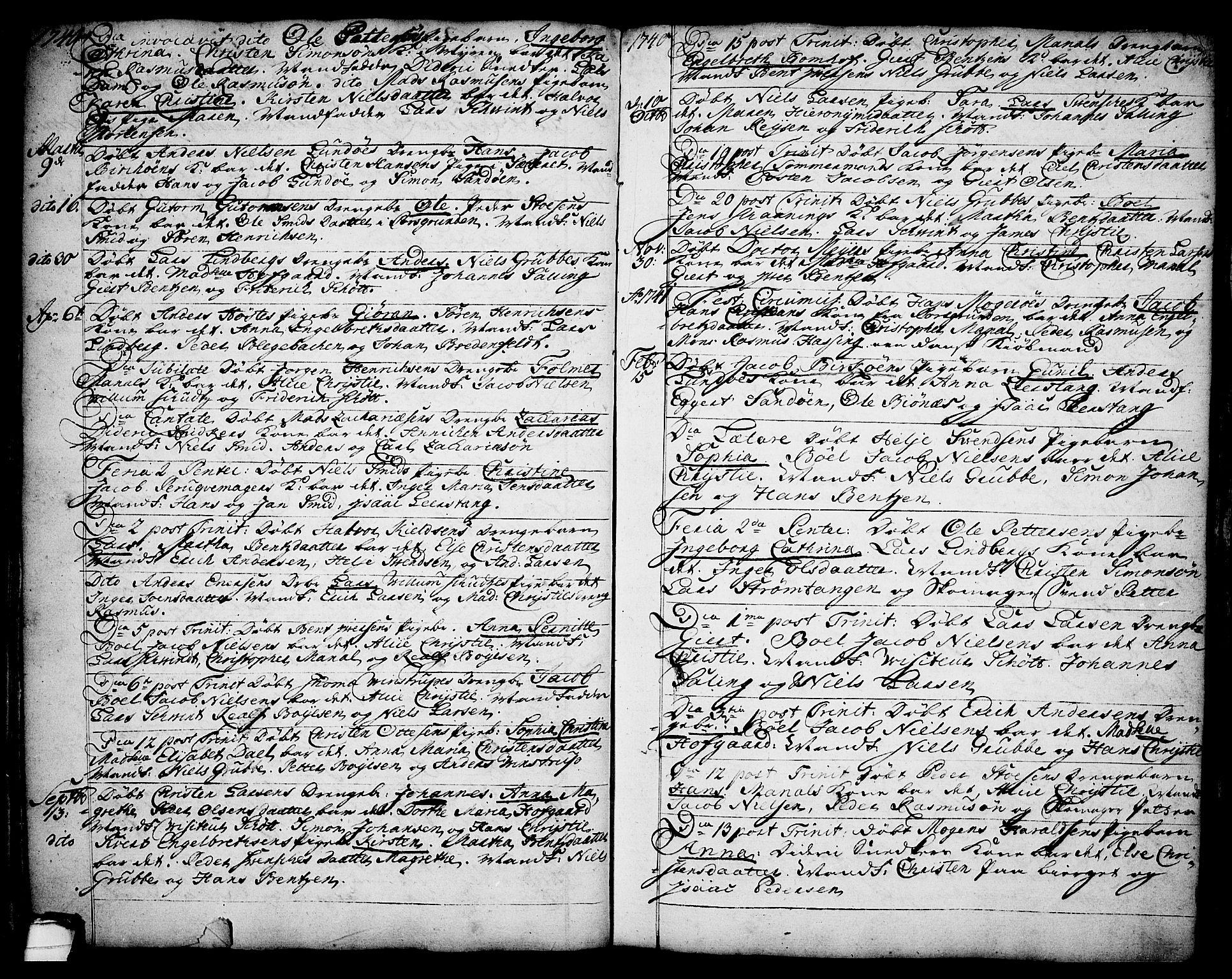 SAKO, Brevik kirkebøker, F/Fa/L0002: Ministerialbok nr. 2, 1720-1764, s. 34l