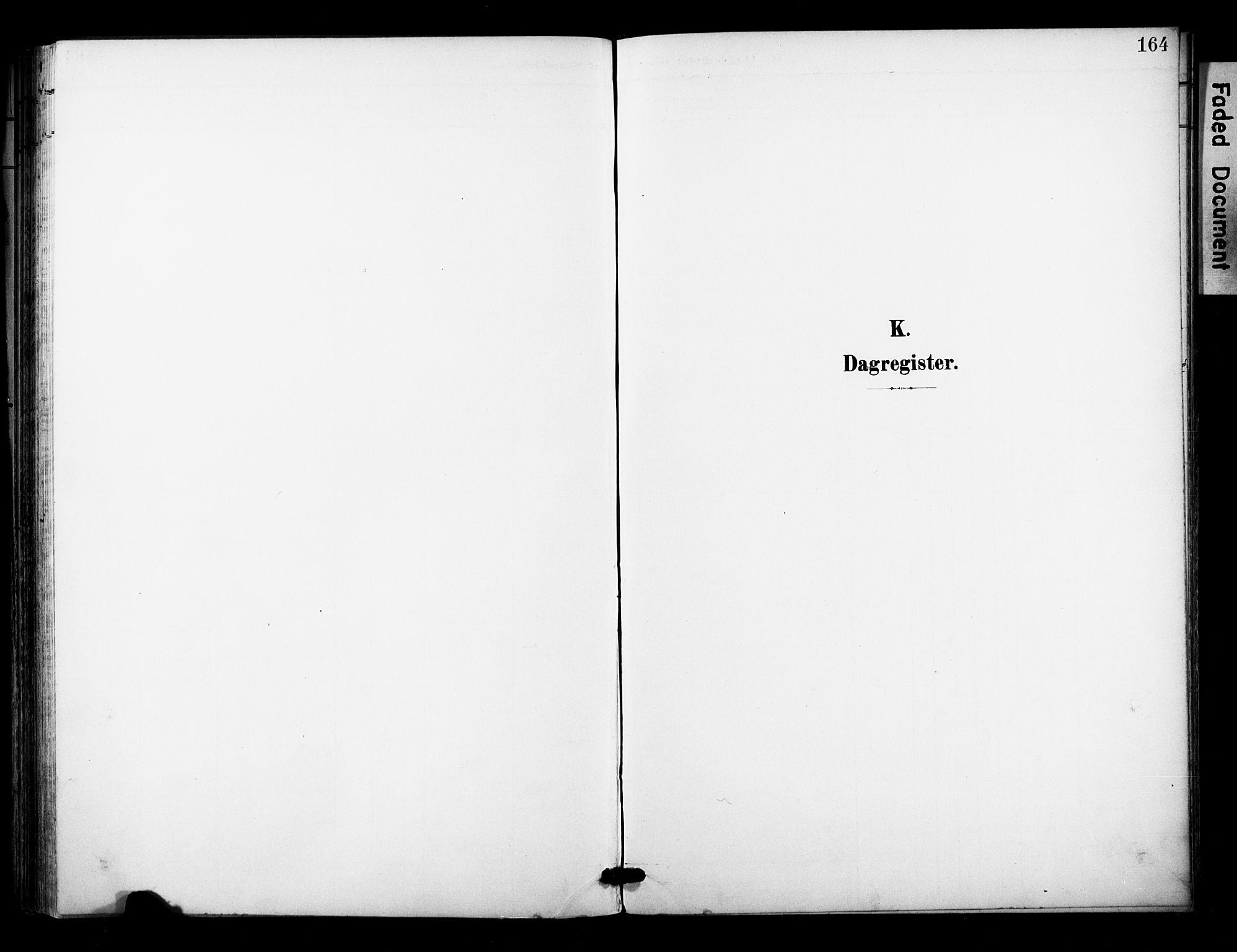 SAKO, Bø kirkebøker, F/Fa/L0012: Ministerialbok nr. 12, 1900-1908, s. 164