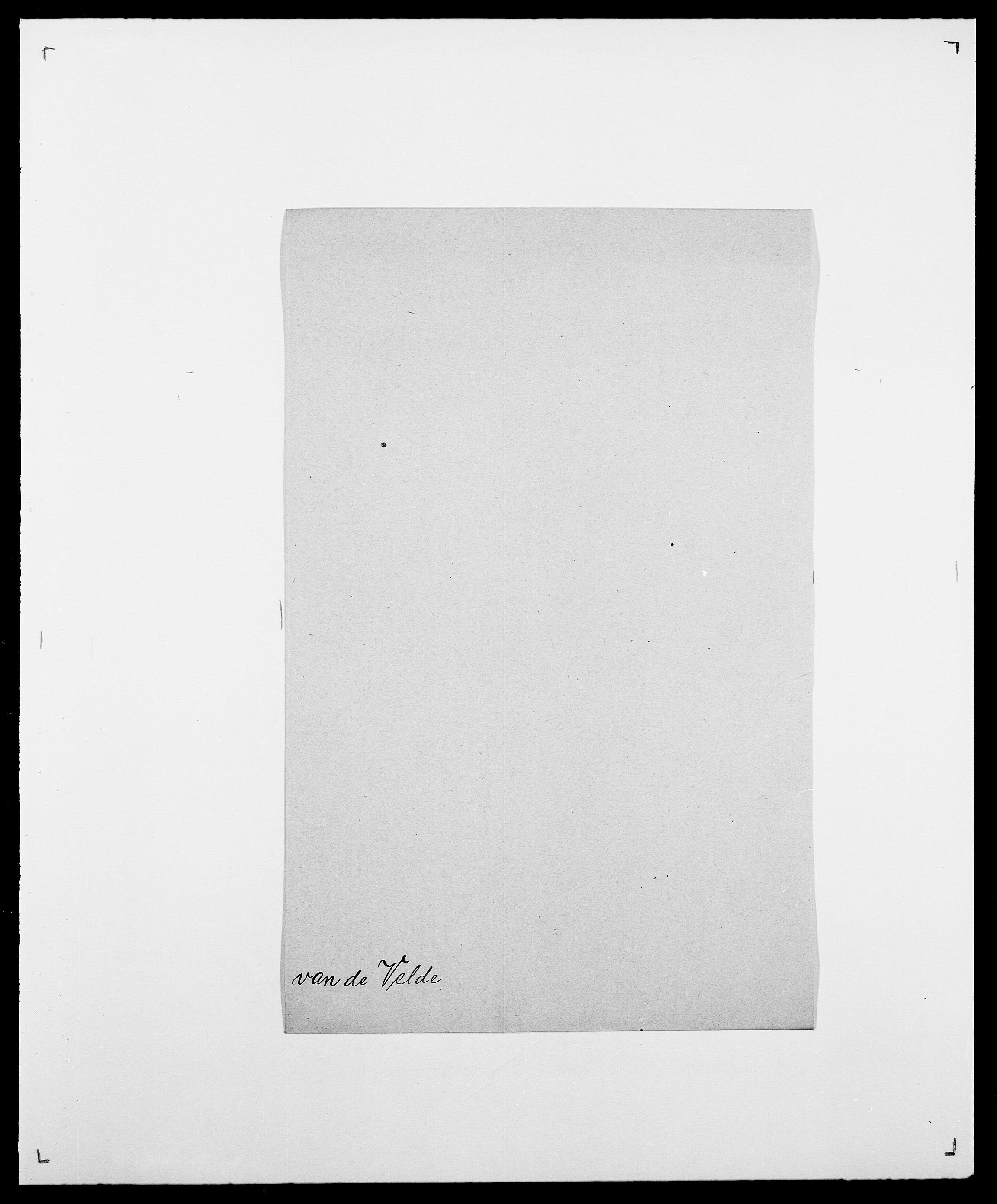 SAO, Delgobe, Charles Antoine - samling, D/Da/L0040: Usgaard - Velund, s. 620