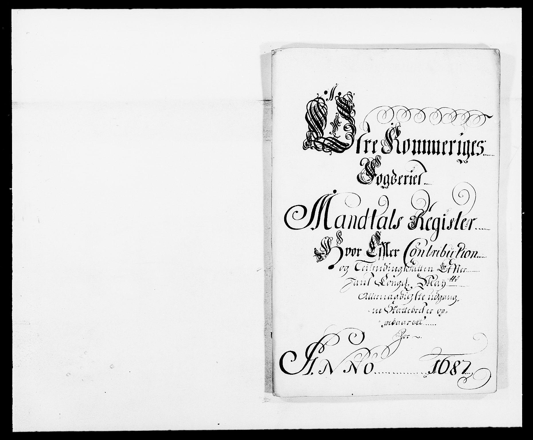 RA, Rentekammeret inntil 1814, Reviderte regnskaper, Fogderegnskap, R12/L0700: Fogderegnskap Øvre Romerike, 1687-1688, s. 58