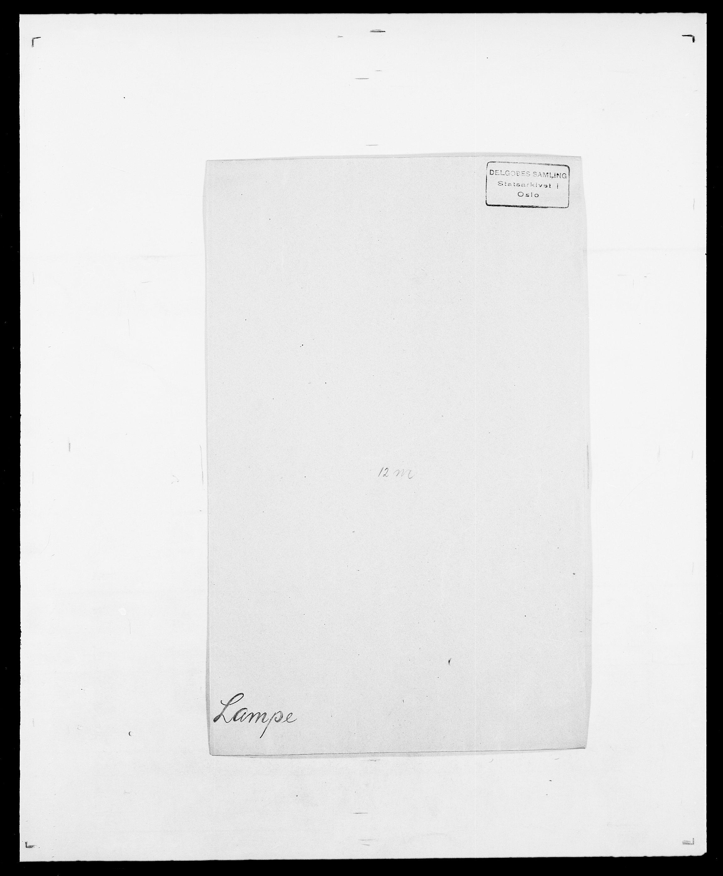 SAO, Delgobe, Charles Antoine - samling, D/Da/L0022: Krog - Lasteen, s. 467